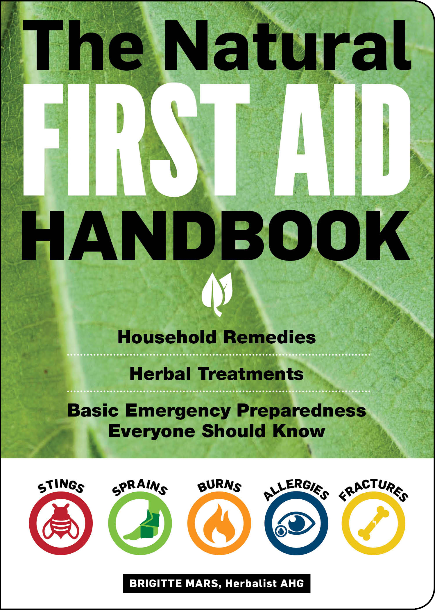 The Natural First Aid Handbook Household Remedies, Herbal Treatments, and Basic Emergency Preparedness Everyone Should Know - Brigitte Mars