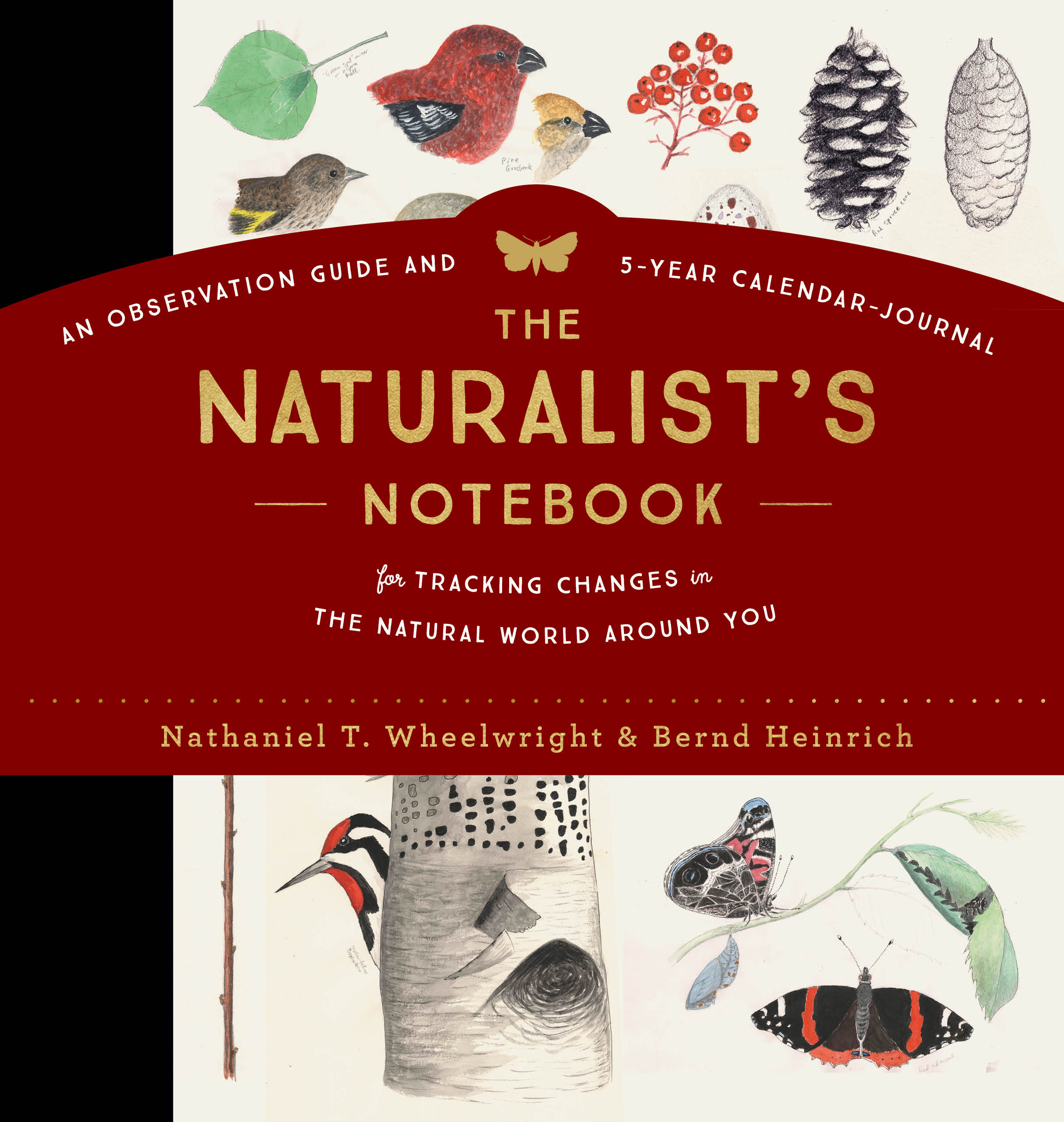 The Naturalist's Notebook An Observation Guide and 5-Year Calendar-Journal for Tracking Changes in the Natural World around You - Nathaniel T. Wheelwright