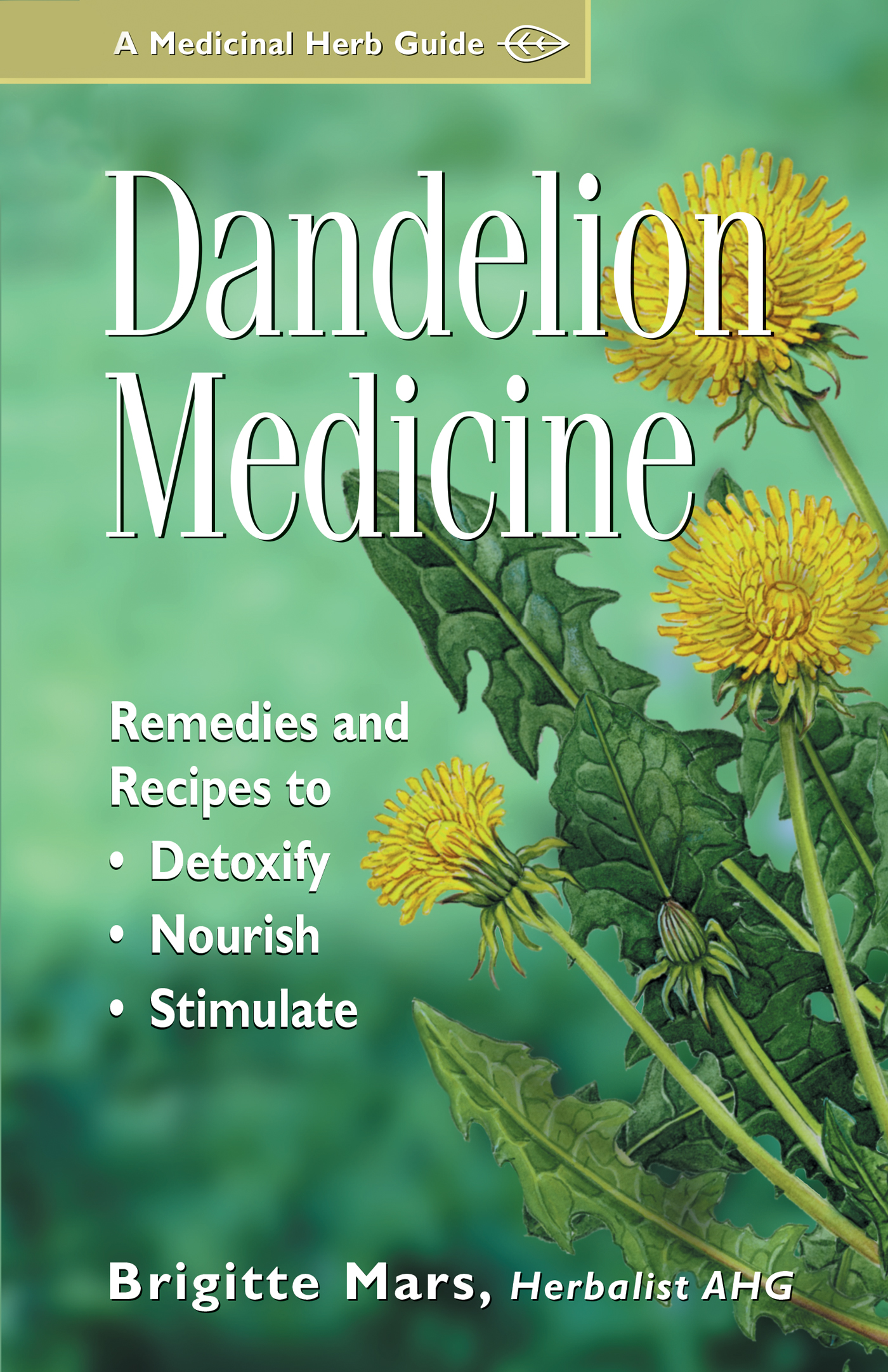 Dandelion Medicine Remedies and Recipes to Detoxify, Nourish, and Stimulate - Brigitte Mars