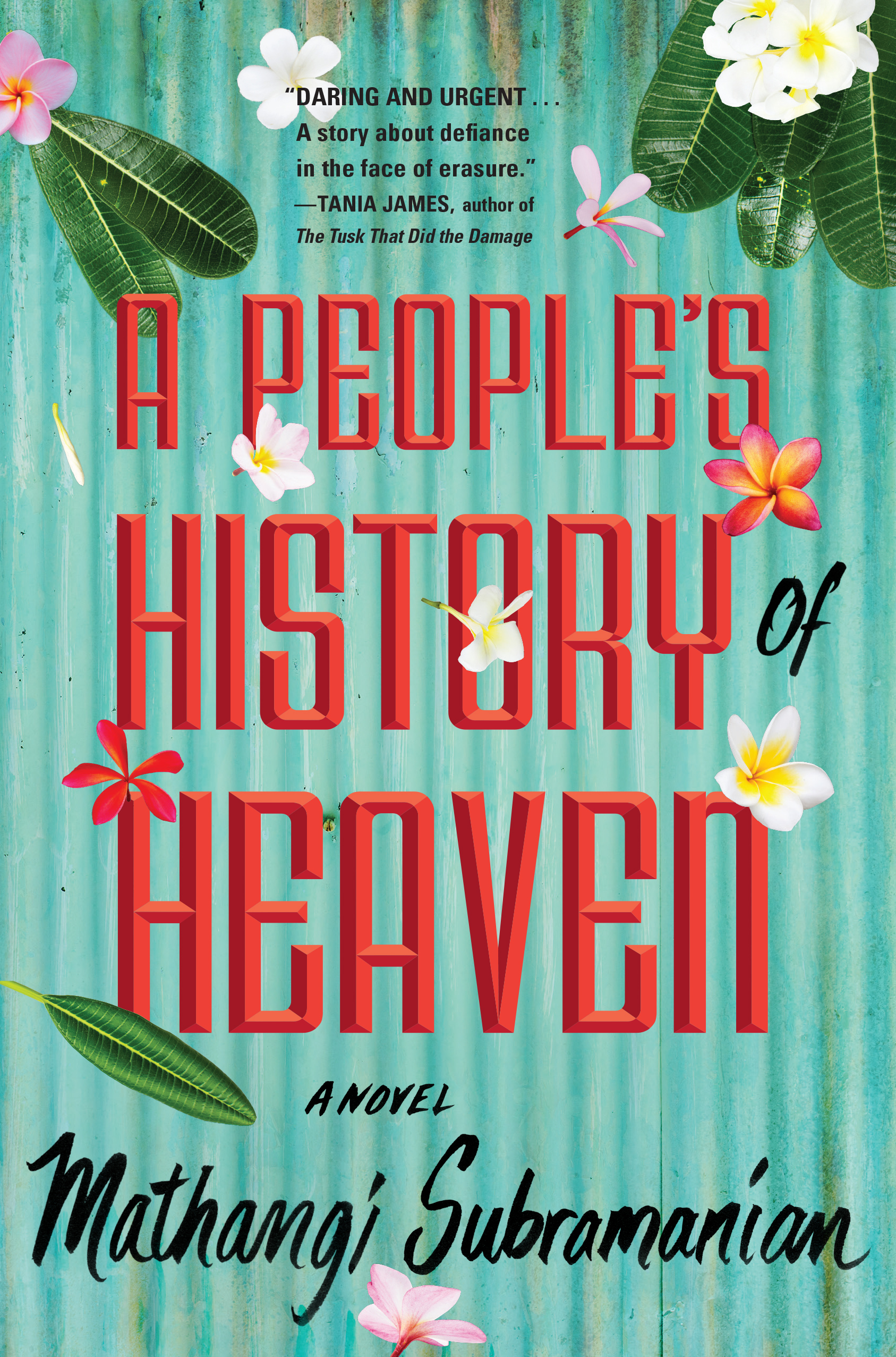 Book cover for A People's History of Heaven