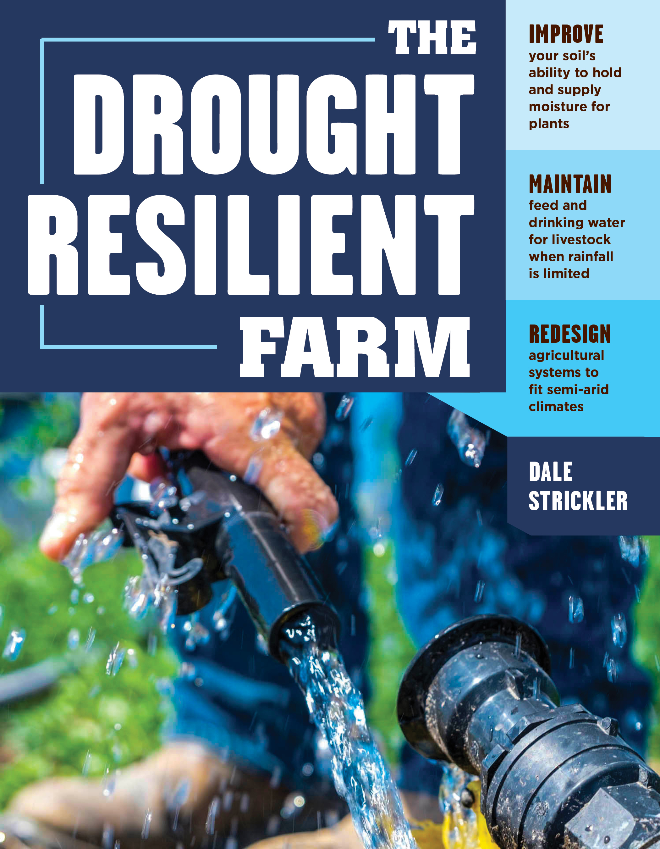 The Drought-Resilient Farm Improve Your Soil's Ability to Hold and Supply Moisture for Plants; Maintain Feed and Drinking Water for Livestock when Rainfall Is Limited; Redesign Agricultural Systems to Fit Semi-arid Climates - Dale Strickler