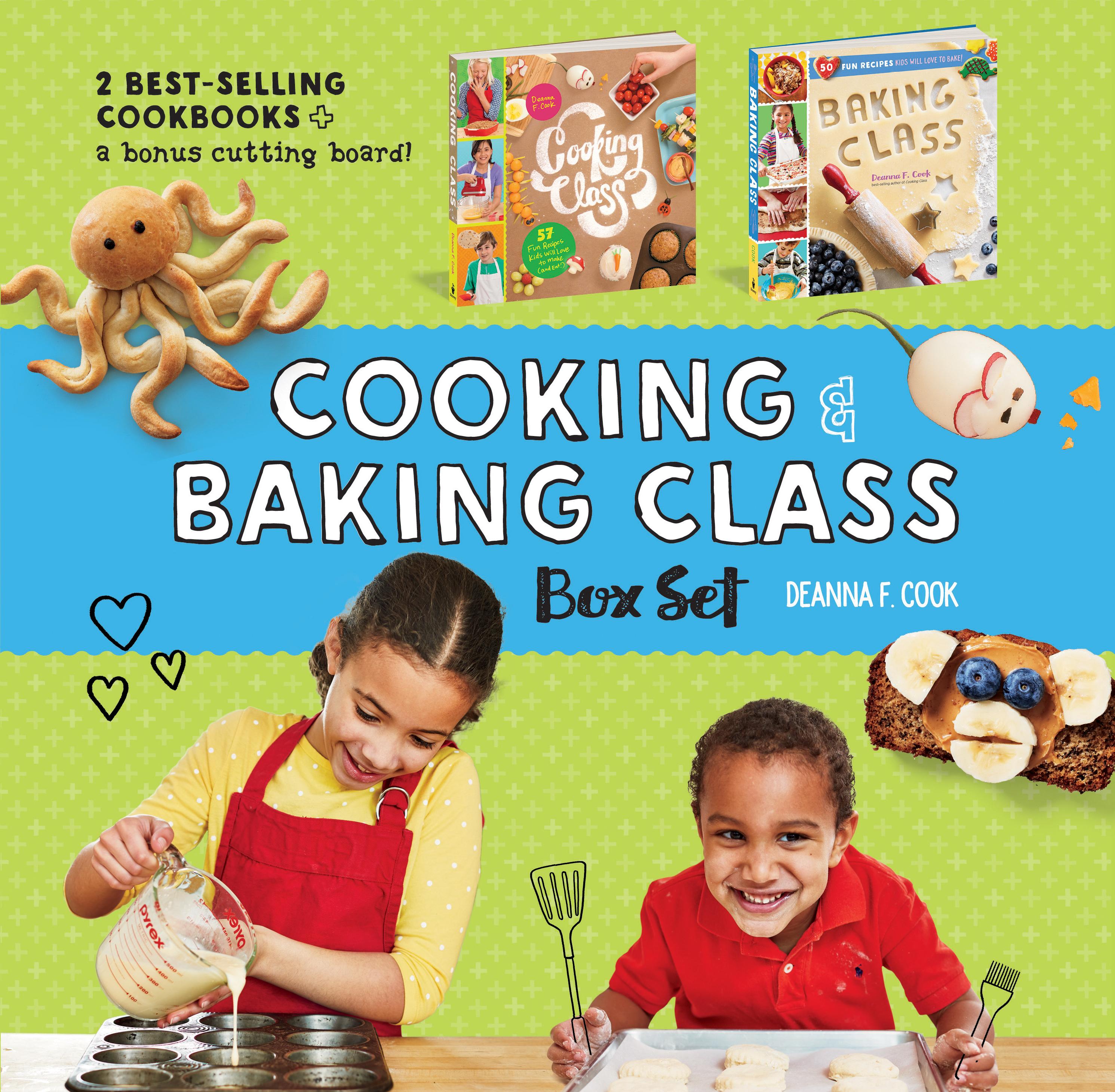 Cooking & Baking Class Box Set  - Deanna F. Cook