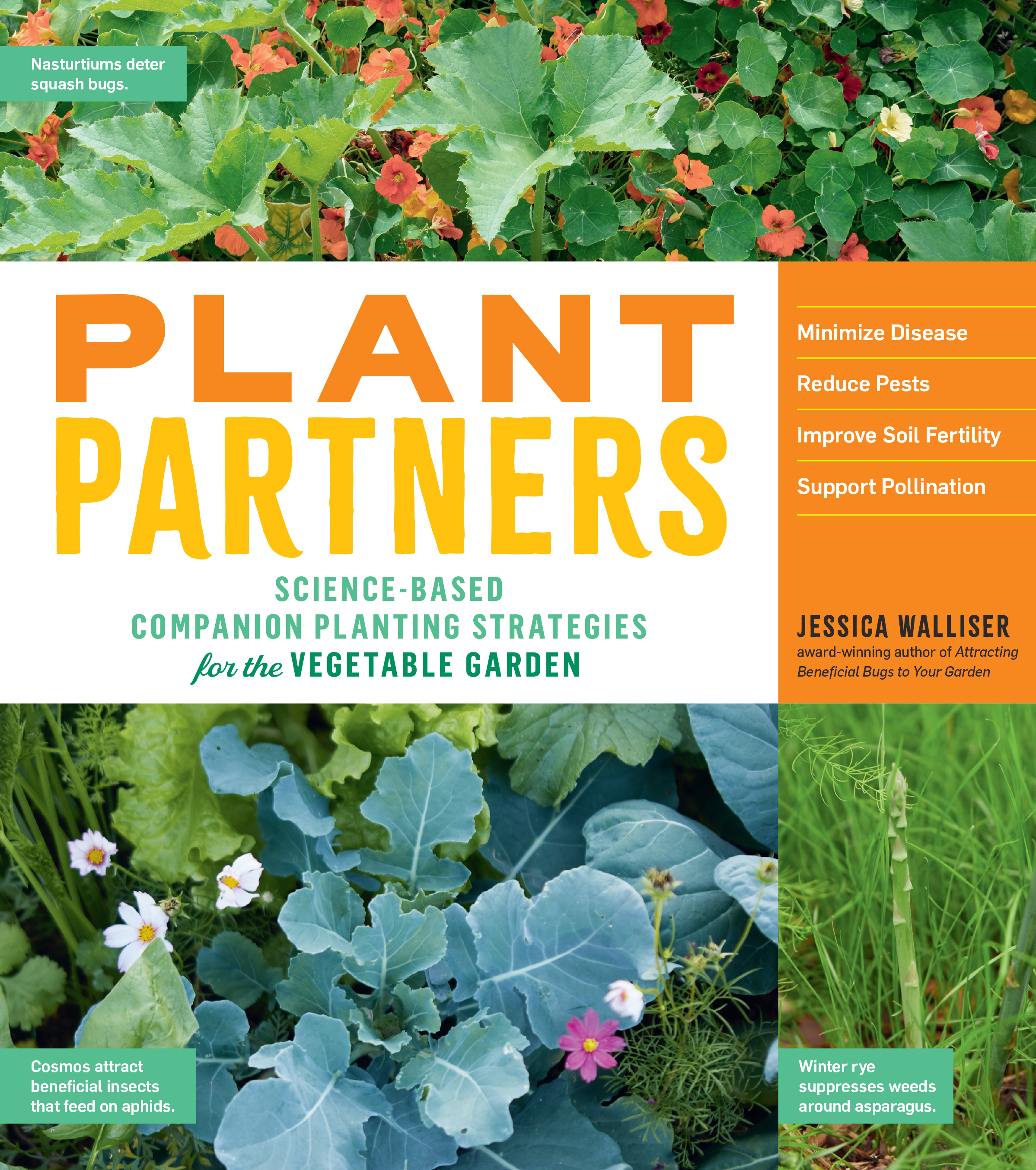 Plant Partners Science-Based Companion Planting Strategies for the Vegetable Garden - Jessica Walliser