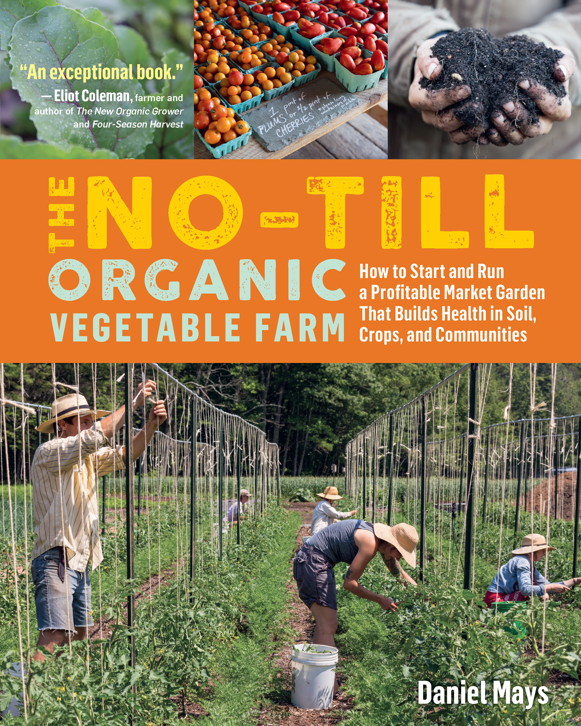 The No-Till Organic Vegetable Farm How to Start and Run a Profitable Market Garden That Builds Health in Soil, Crops, and Communities - Daniel Mays