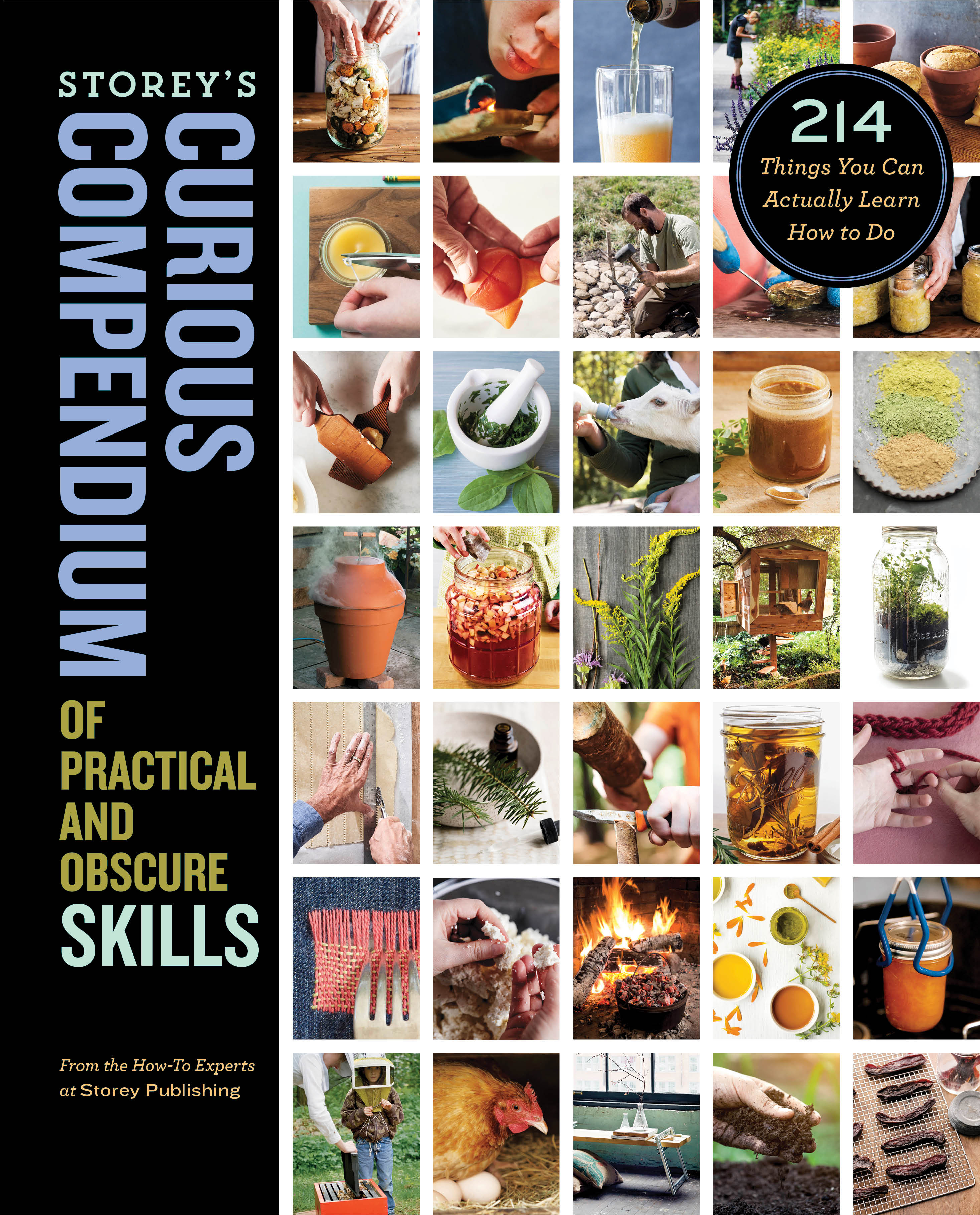 Storey's Curious Compendium of Practical and Obscure Skills 214 Things You Can Actually Learn How to Do - How-To Experts at Storey Publishing