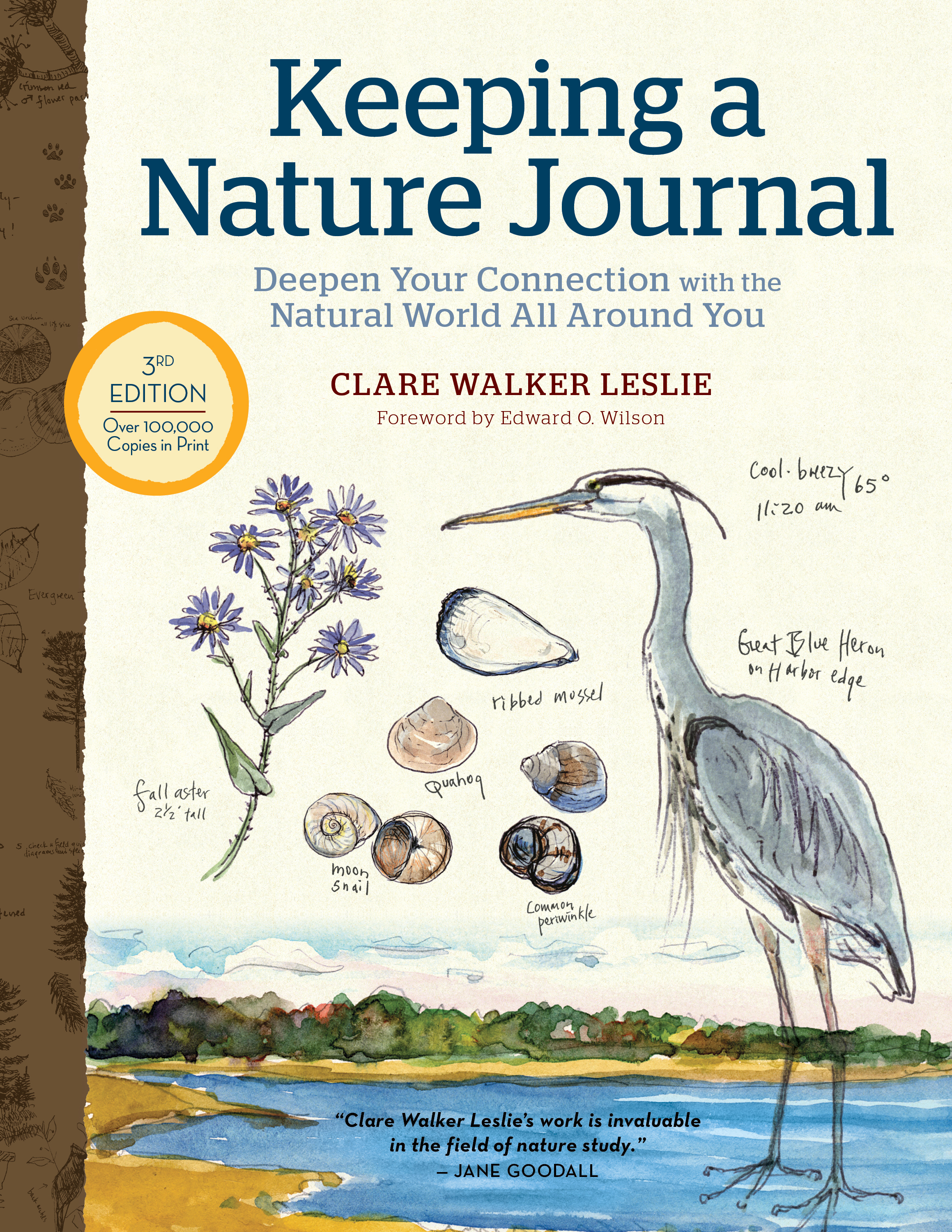 Keeping a Nature Journal, 3rd Edition Deepen Your Connection with the Natural World All Around You - Clare Walker Leslie