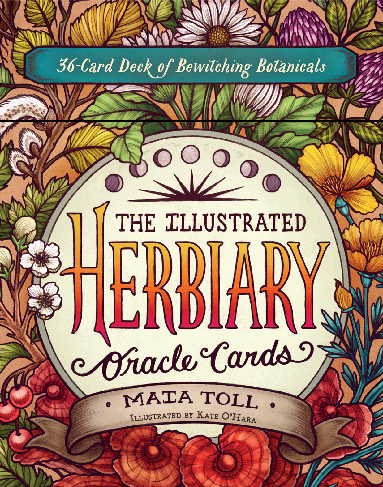 The Illustrated Herbiary Oracle Cards 36-Card Deck of Bewitching Botanicals - Maia Toll