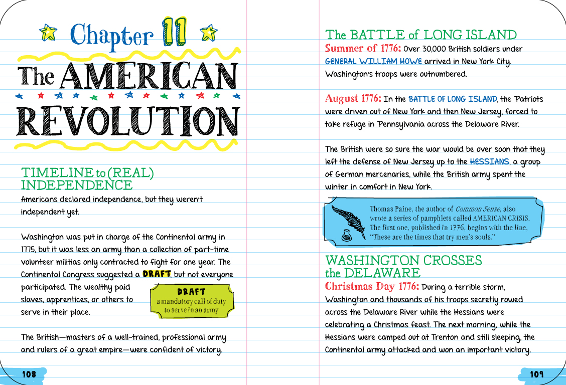 everything you need to ace american history in one big fat notebook the complete middle school study guide