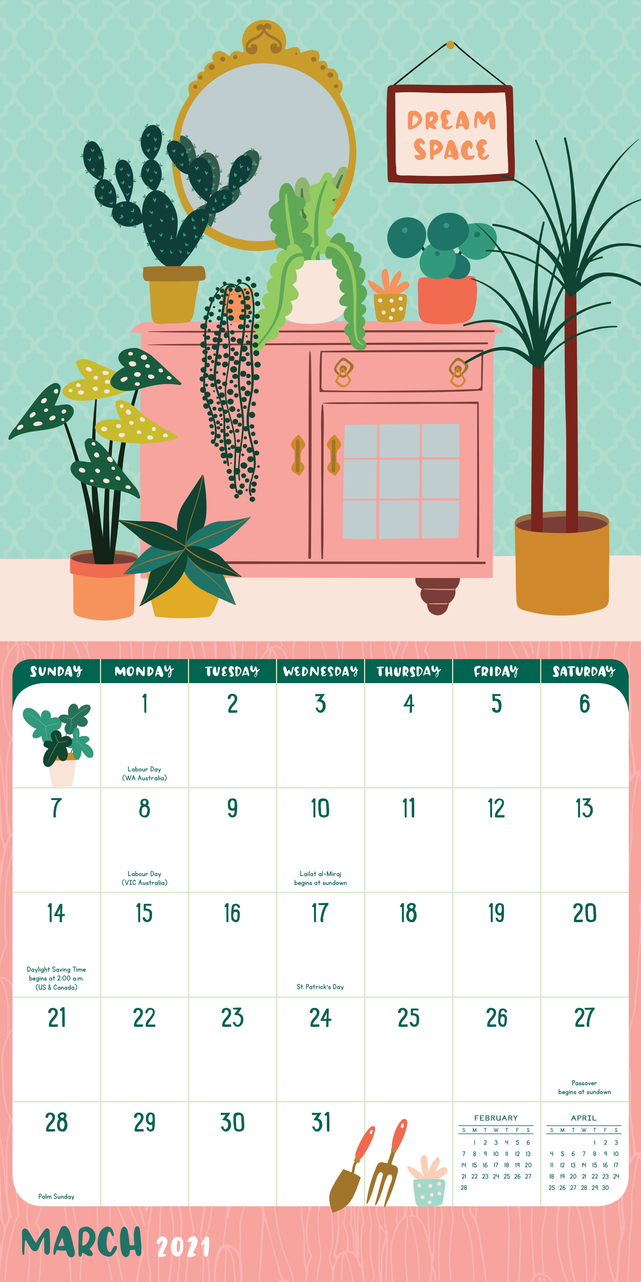 Crazy Calendar 2021 Photos