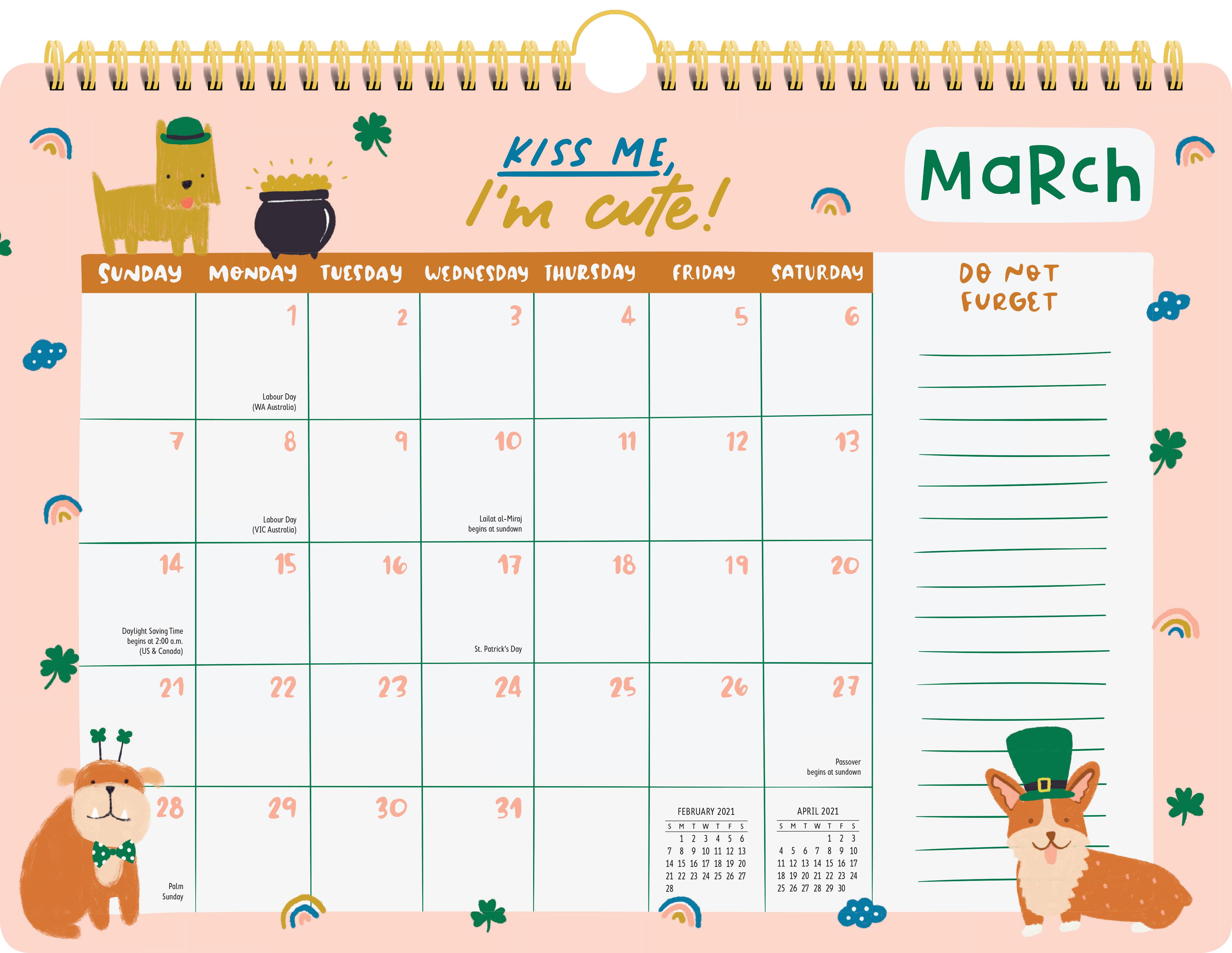 Dog Mom 17-Month Wall Calendar 2021 - Workman Publishing