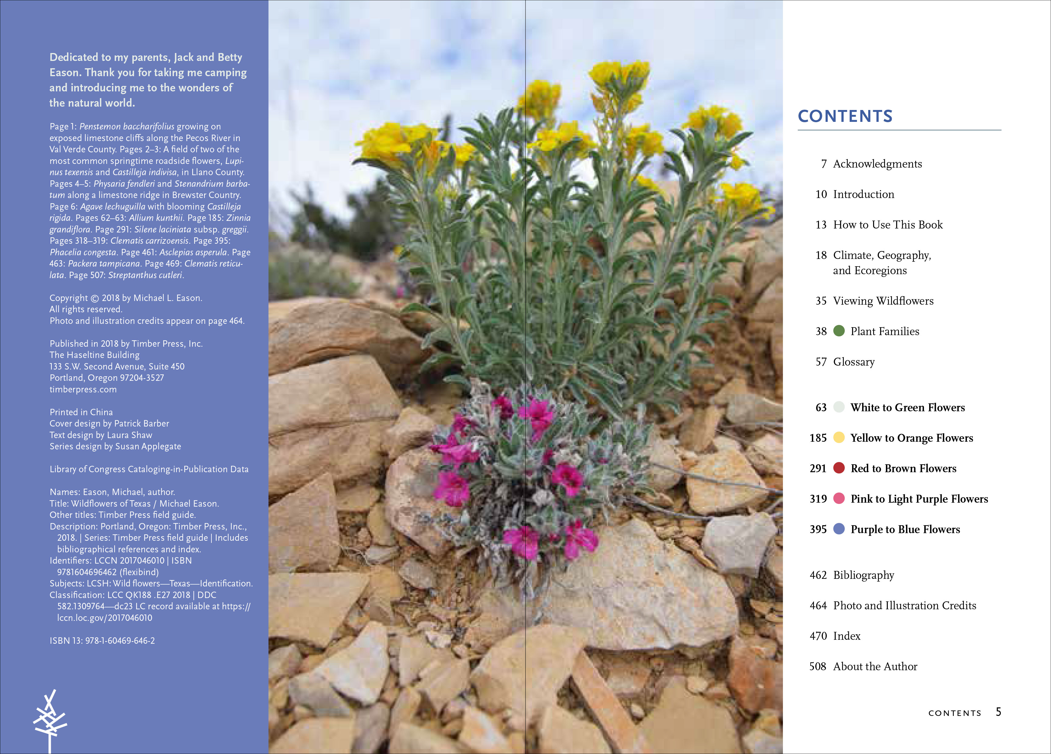 Wildflowers of Texas - Workman Publishing