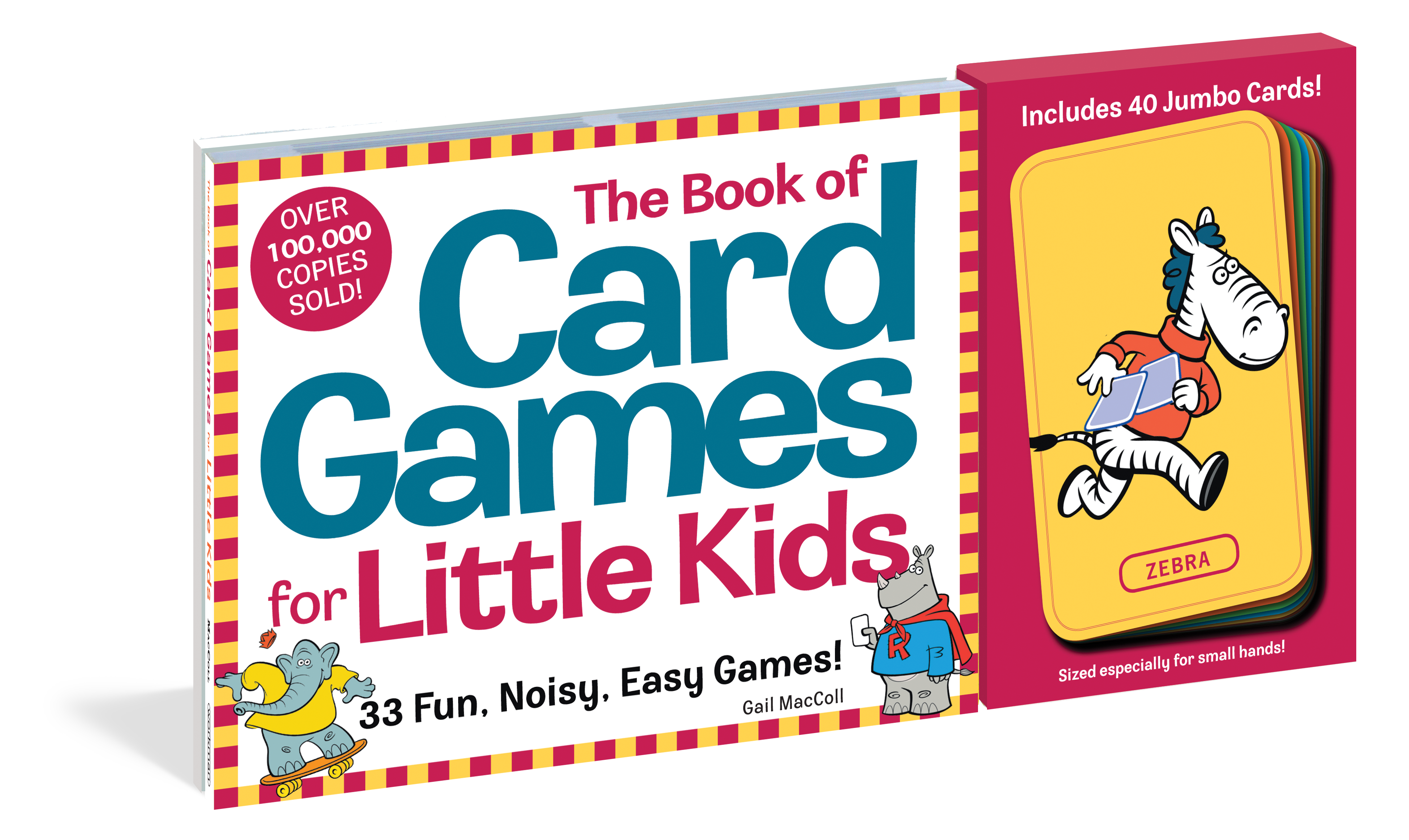 The Book of Card Games for Little Kids - Workman Publishing