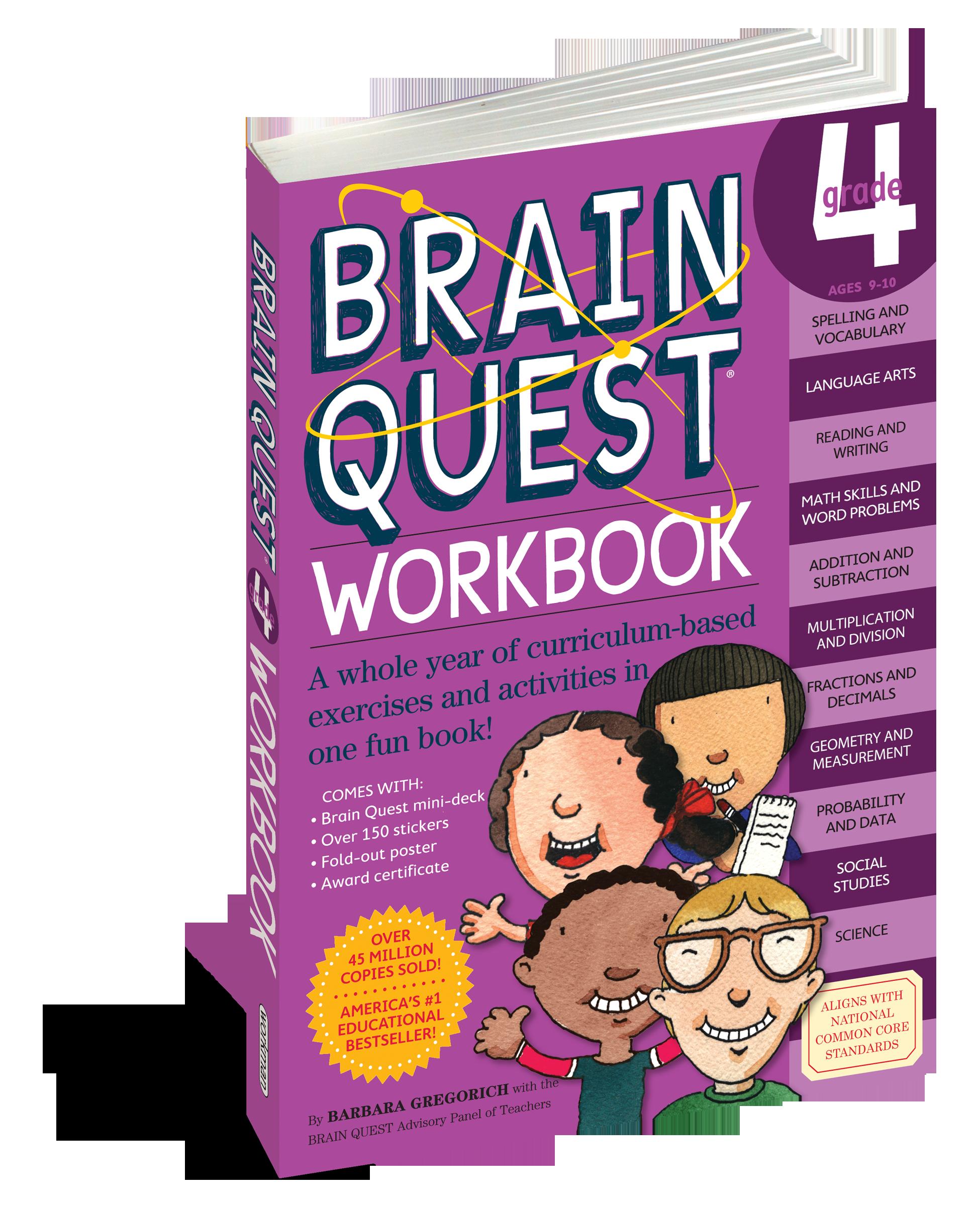 Brain Quest Workbook: Grade 4 - Workman Publishing