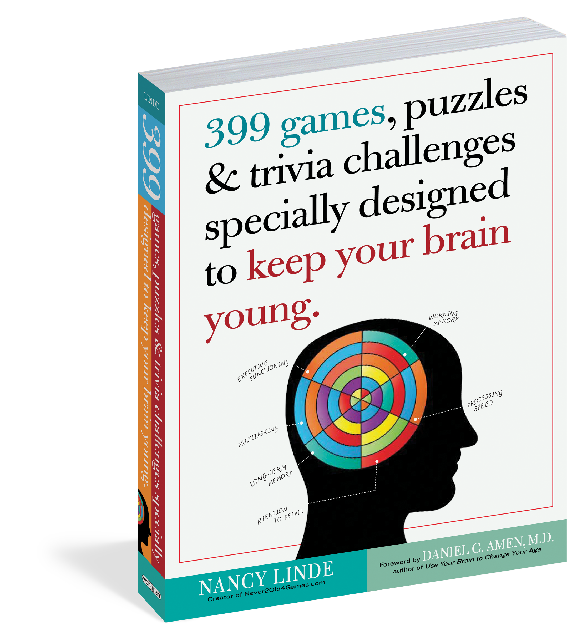 399 Games, Puzzles & Trivia Challenges Specially Designed to Keep