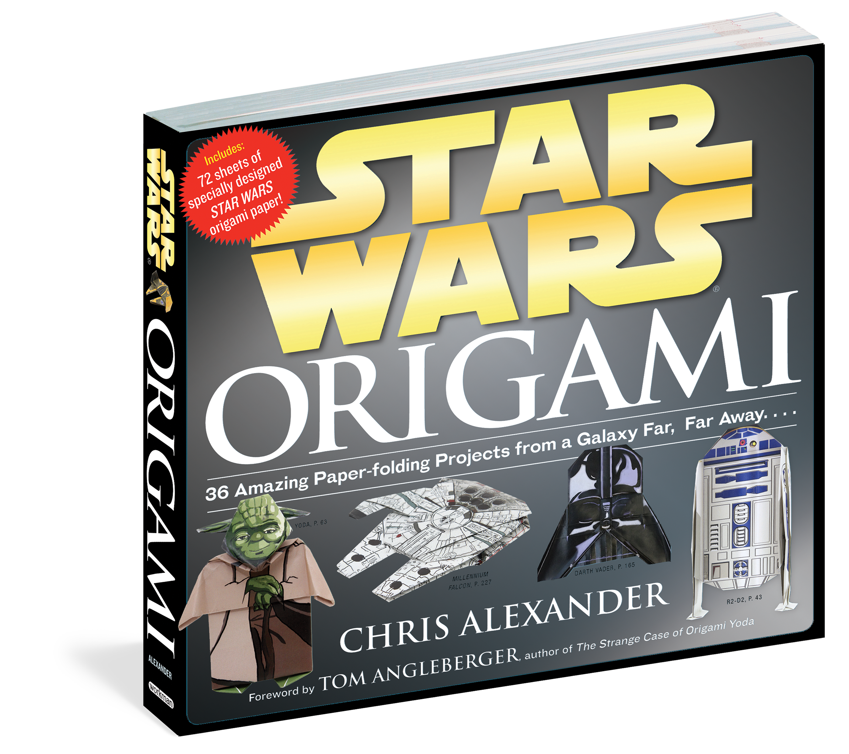 Star Wars Origami - Workman Publishing - photo#35