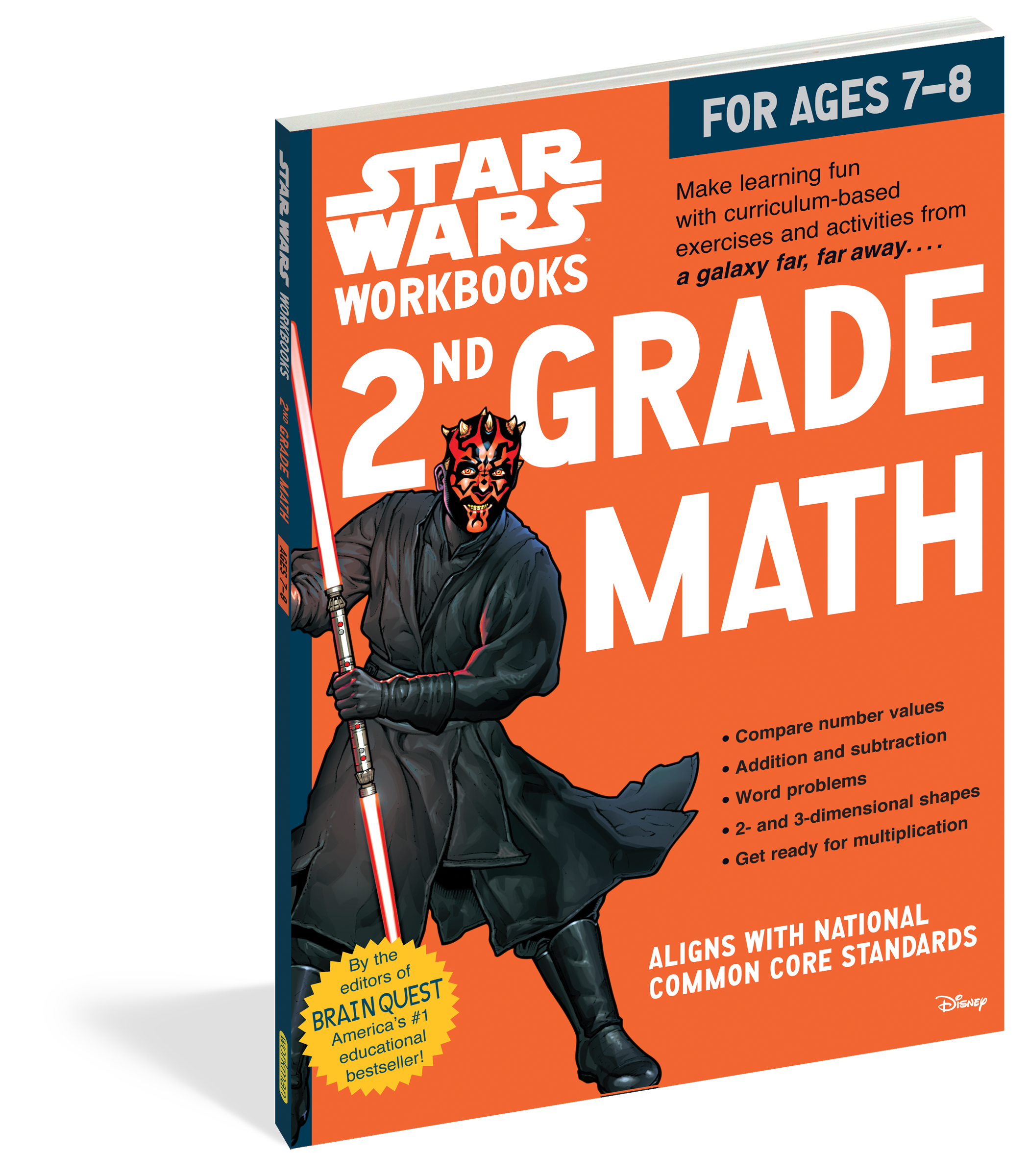Star Wars Workbook: 2nd Grade Math - Workman Publishing