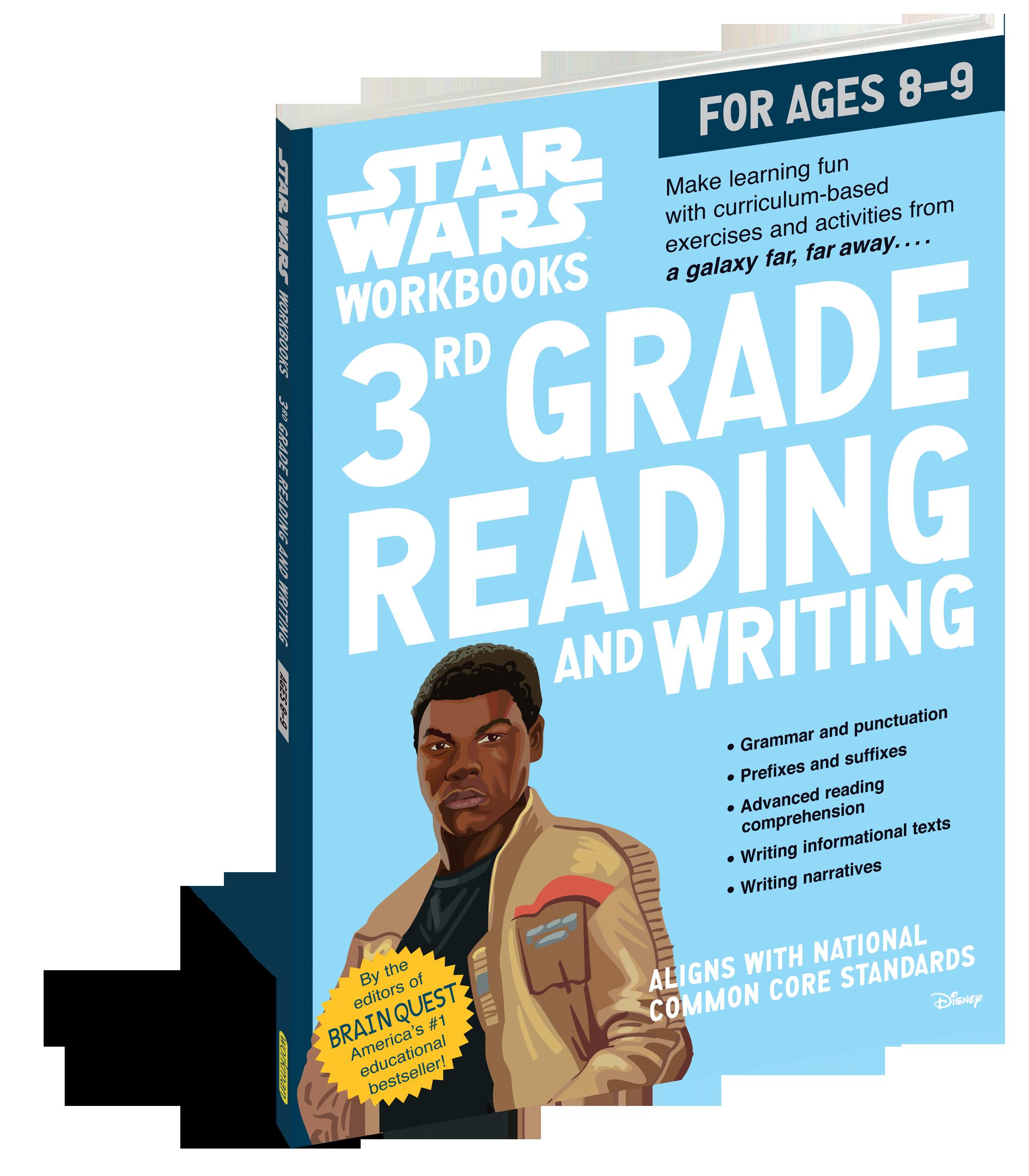 Star Wars Workbook: 3rd Grade Reading and Writing - Workman Publishing