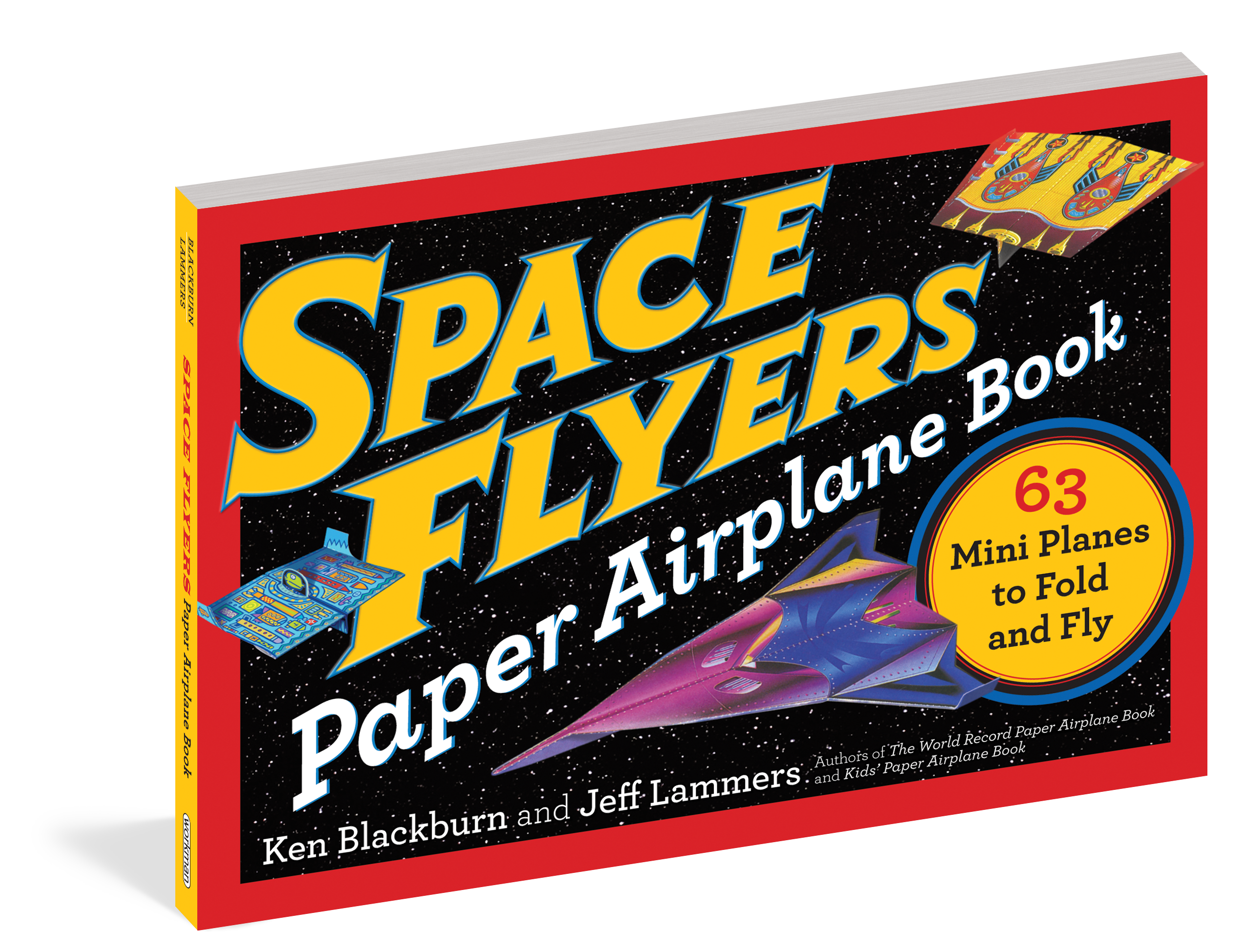 space flyers paper airplane book workman publishing