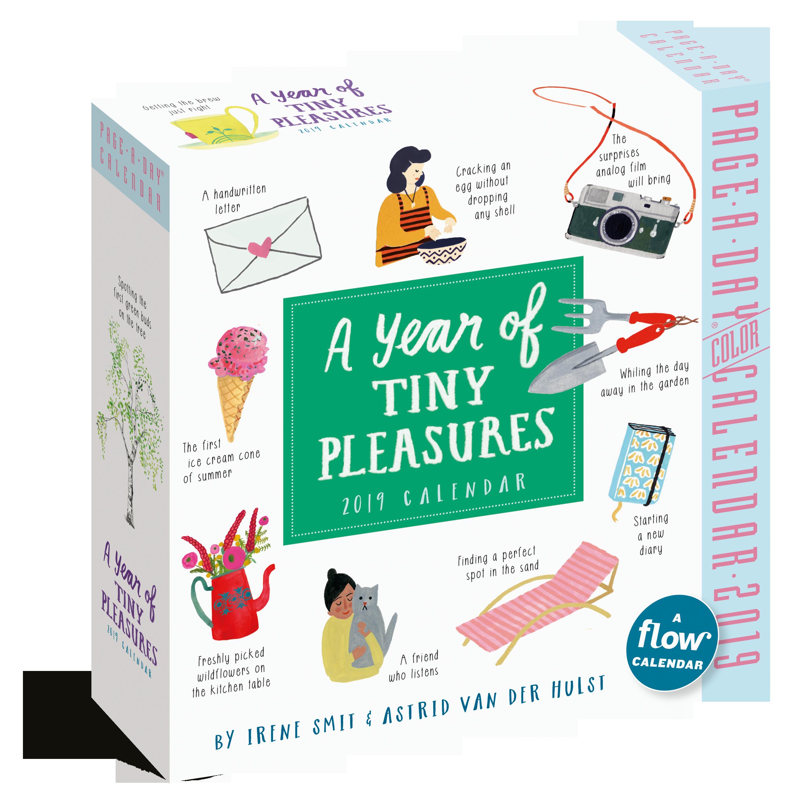 A Year of Tiny Pleasures PageADay Calendar 2019 Workman Publishing