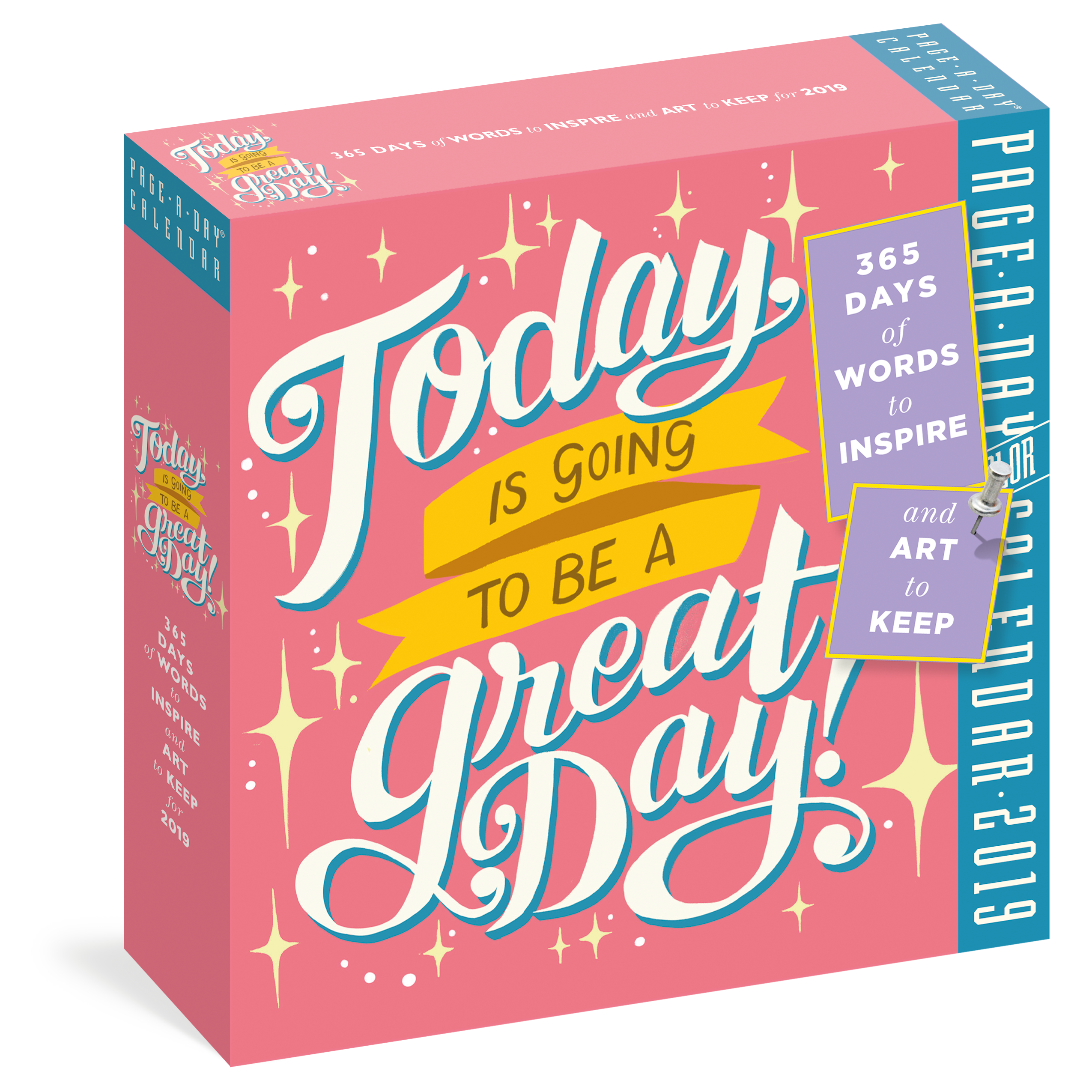 Today Is Going to Be a Great Day PageADay Calendar 2019 Workman
