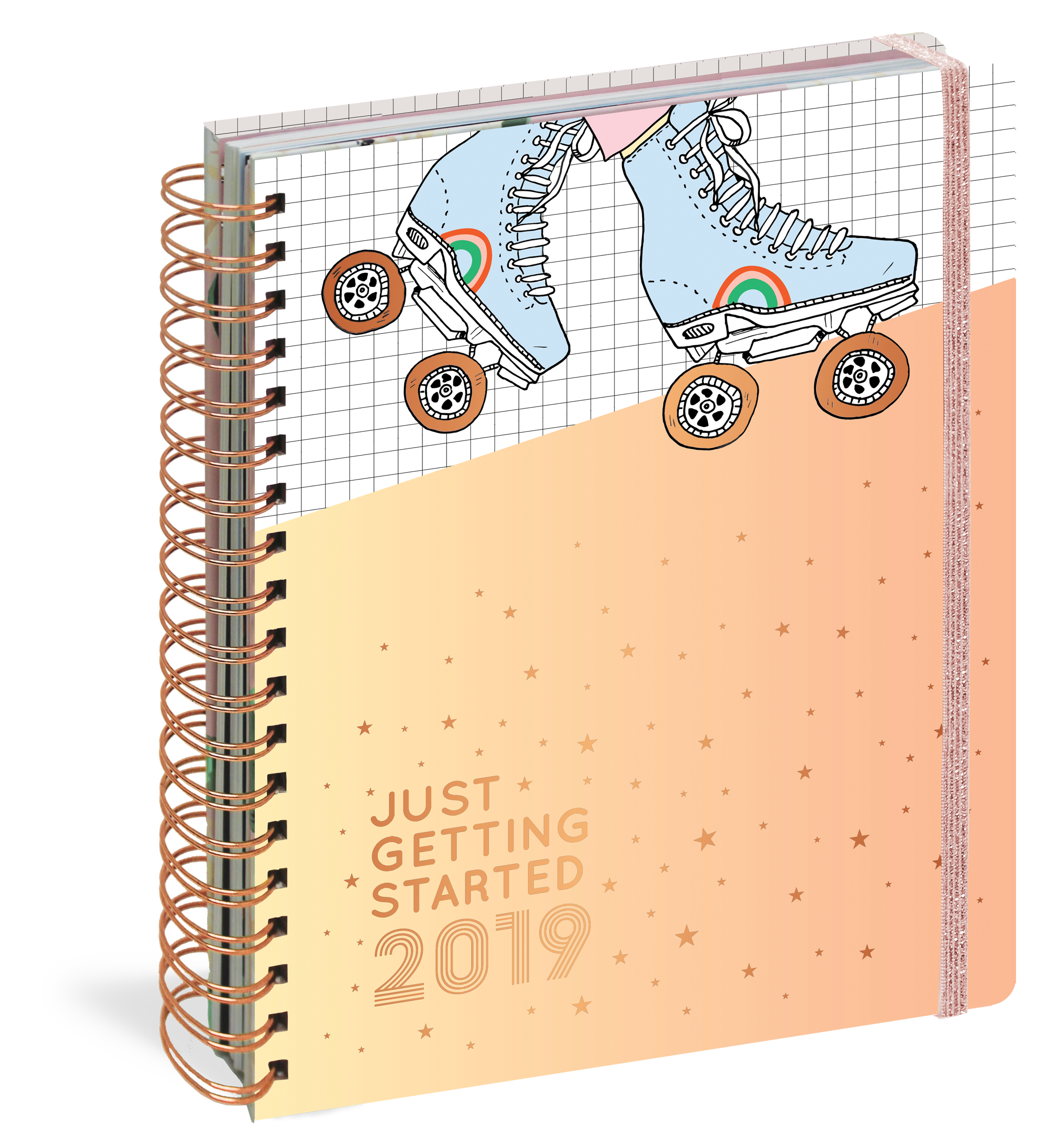 just getting started 17 month large planner 2019 workman publishing