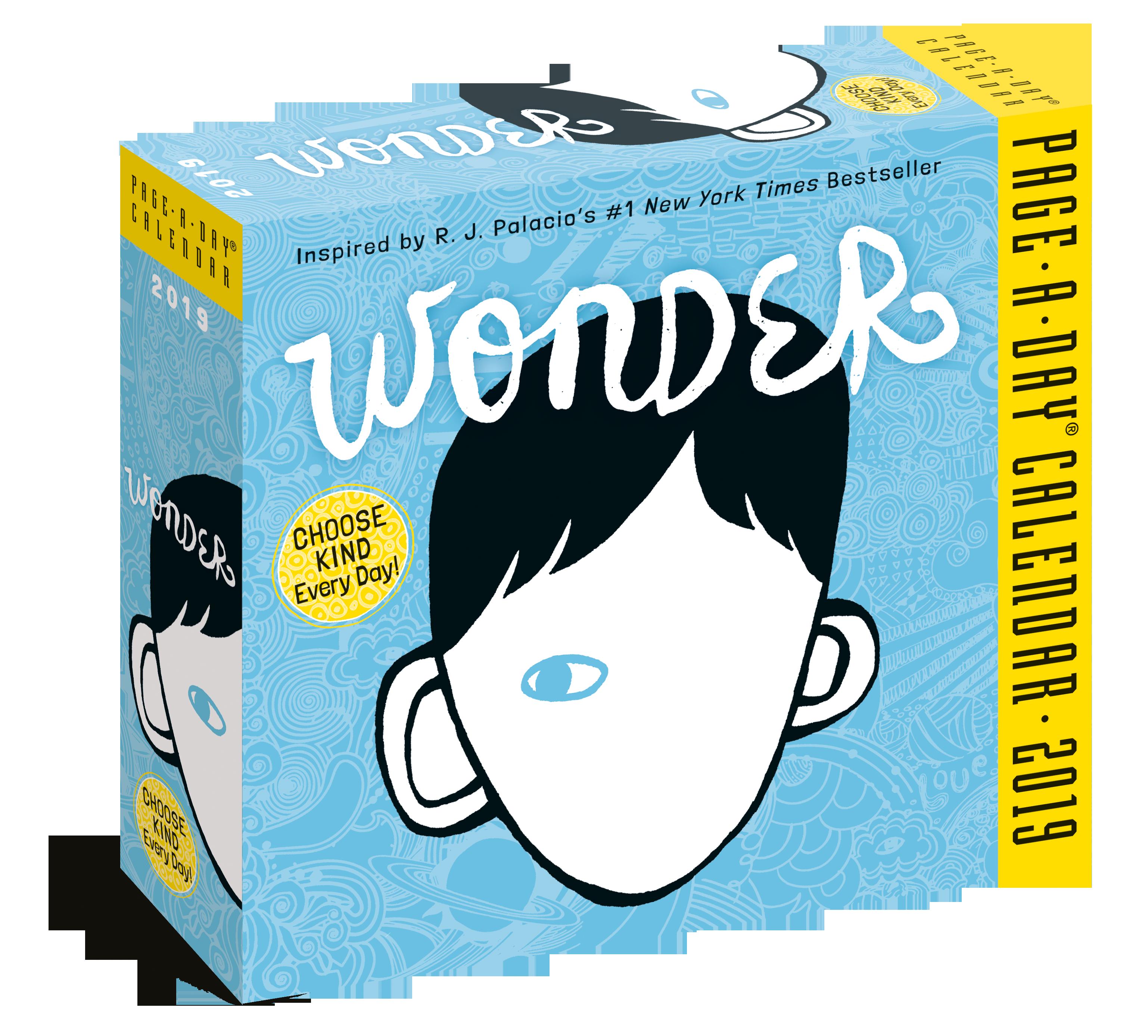 Wonder PageADay Calendar 2019 Workman Publishing