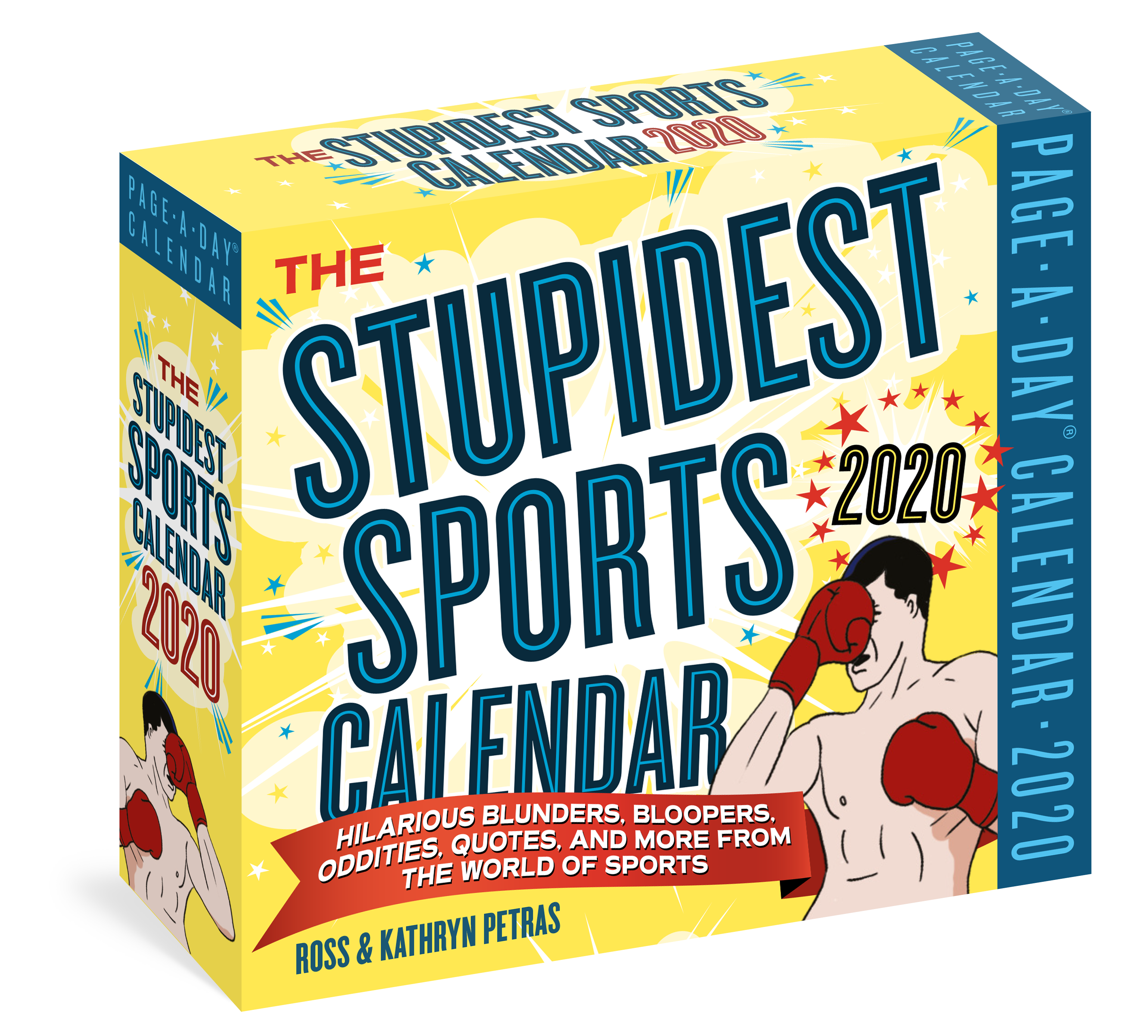 Sports Calendar 2020 The Stupidest Sports Page A Day Calendar 2020   Workman Publishing