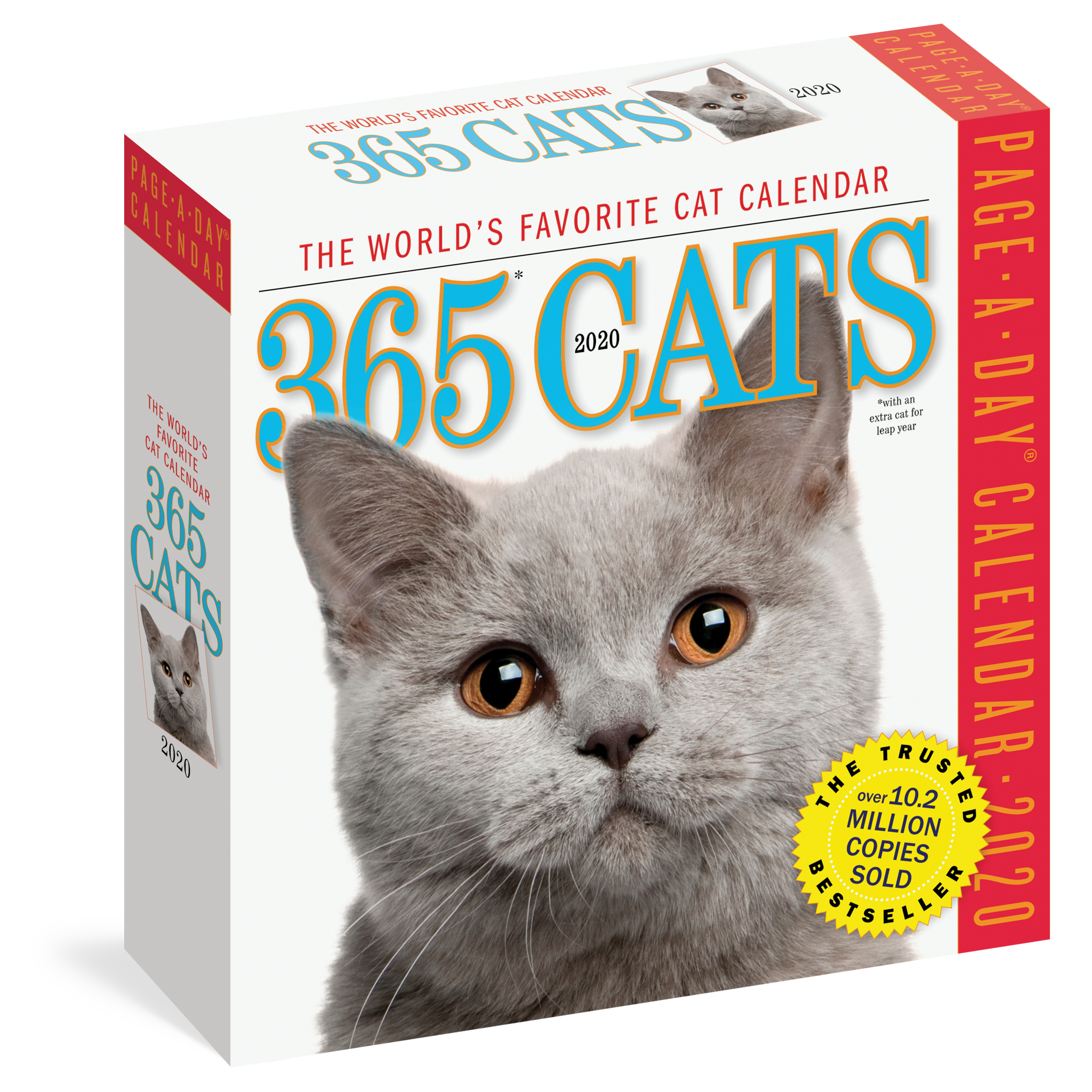 365 Day Calendar 2020 365 Cats Page A Day Calendar 2020   Workman Publishing