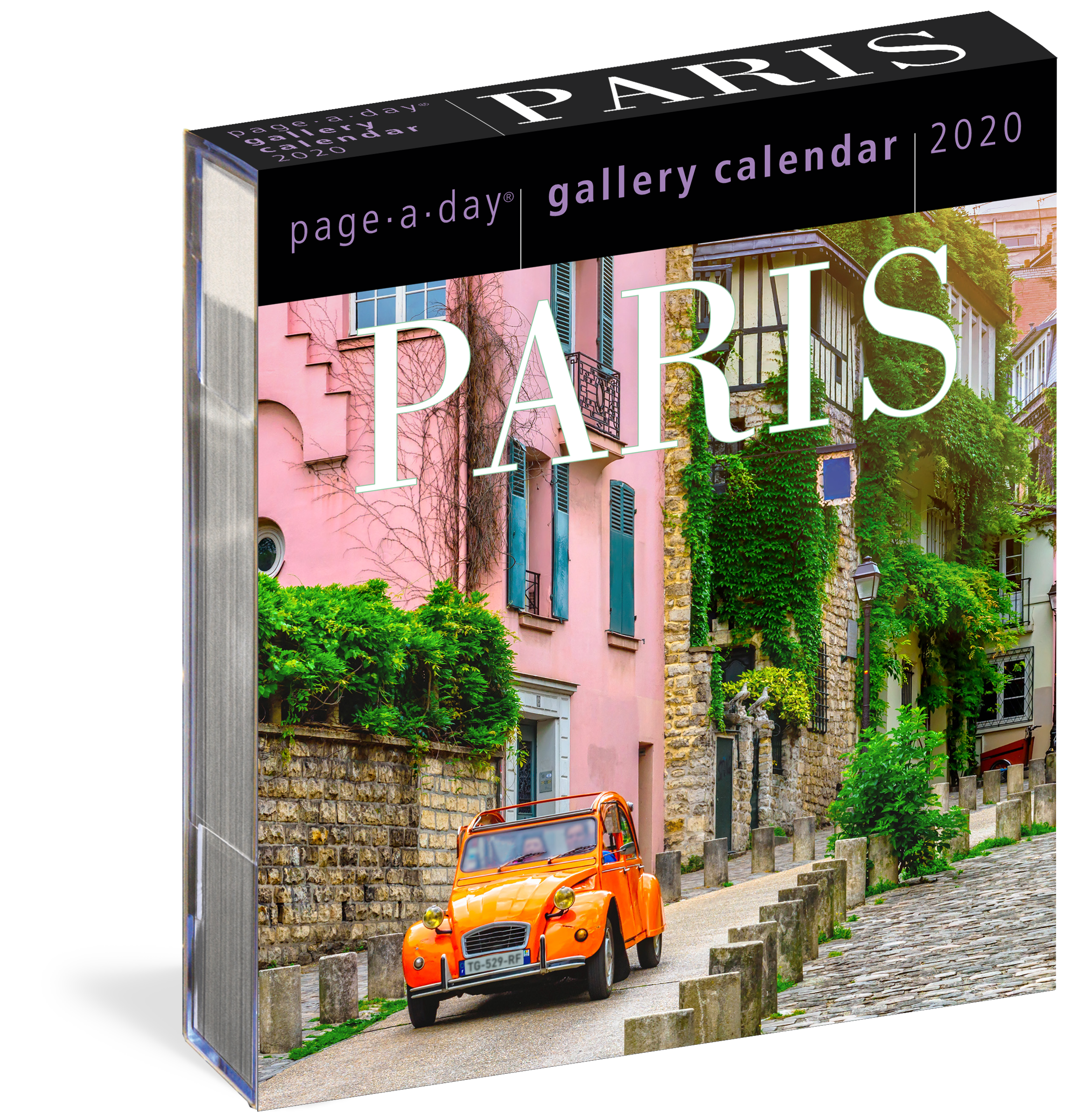 image about Page a Day Calendar identify Paris Web page-A-Working day Gallery Calendar 2020 - Workman Submitting
