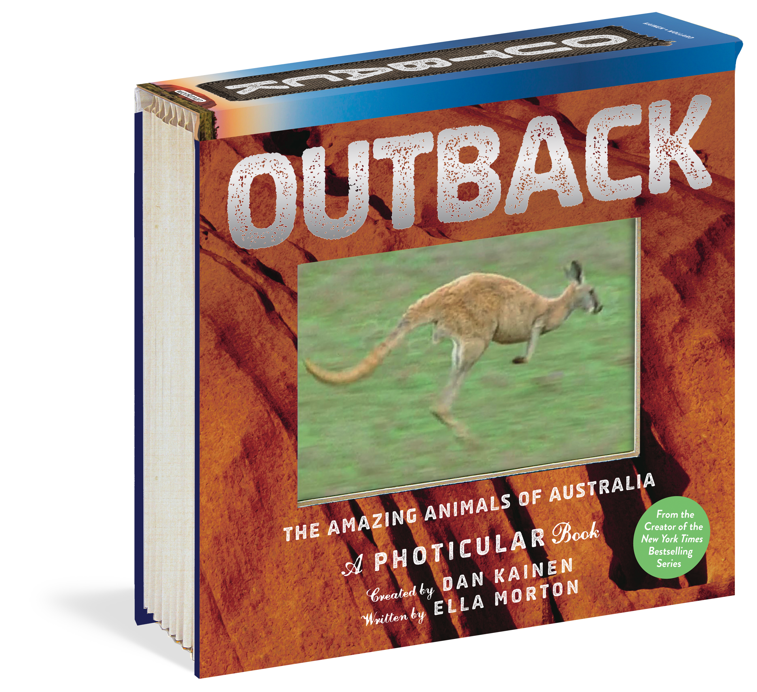 Outback The Amazing Animals of Australia: A Photicular Book: Using Photicular® technology that's like a 3-D movie on the page, OUTBACK whisks you to the vast, remote world of wild Australia, where heat waves dance forever and animals, isolated by the vagaries of continental drift, are unlike those found anywhere else on Earth.