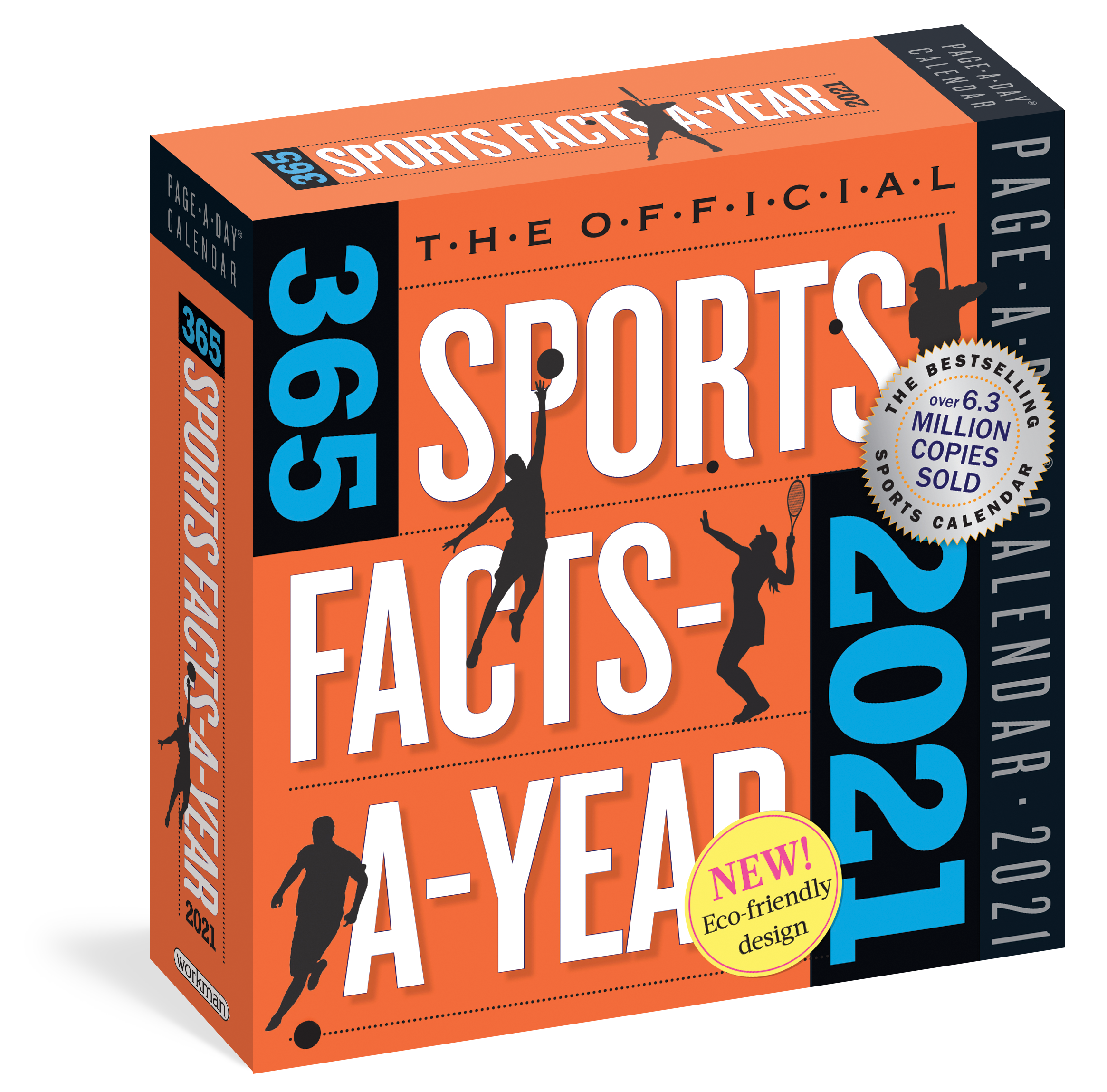 365 Day Calendar 2021 Official 365 Sports Facts A Year Page A Day Calendar 2021