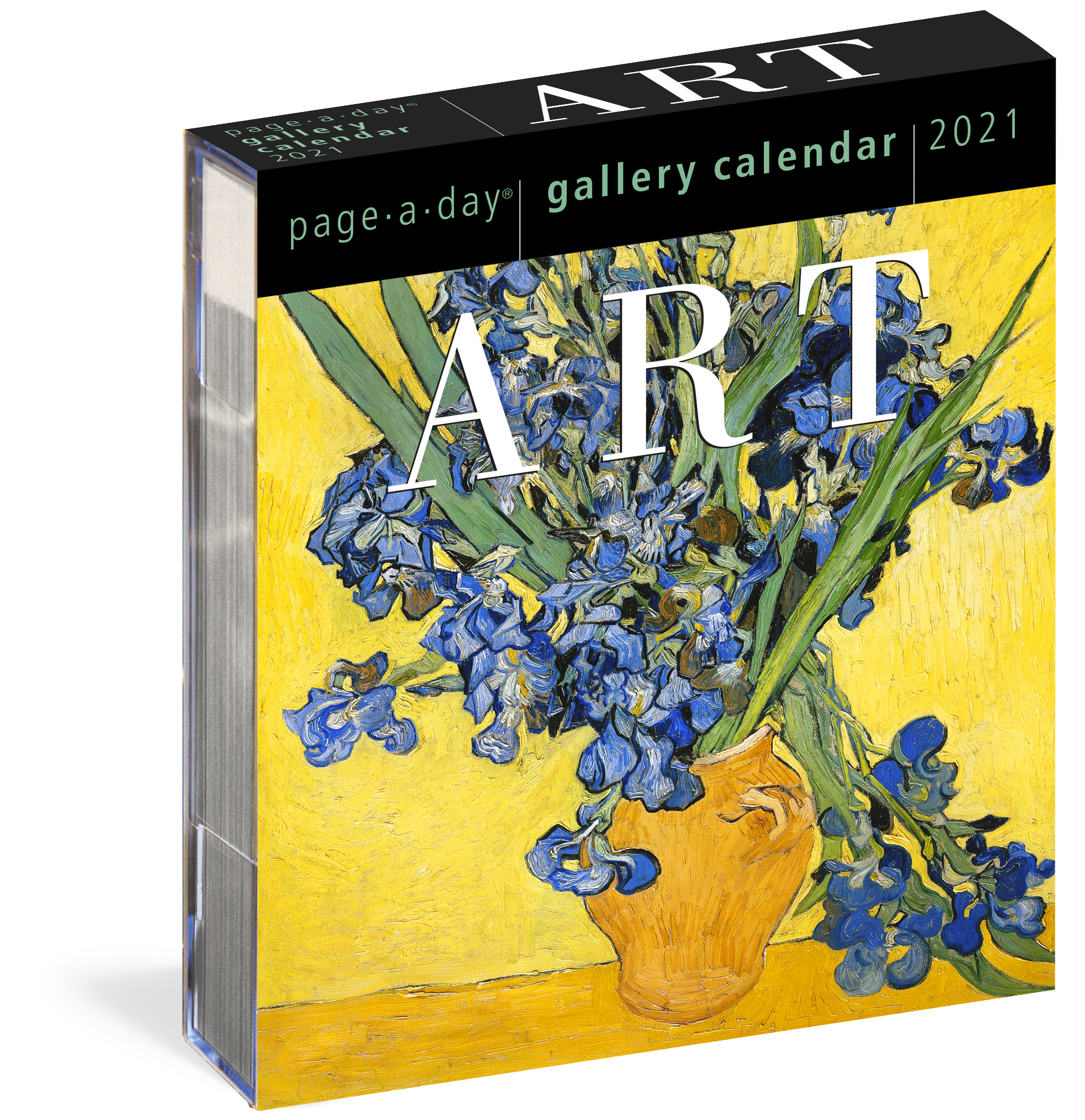 Art Page A Day Gallery Calendar 2021   Workman Publishing