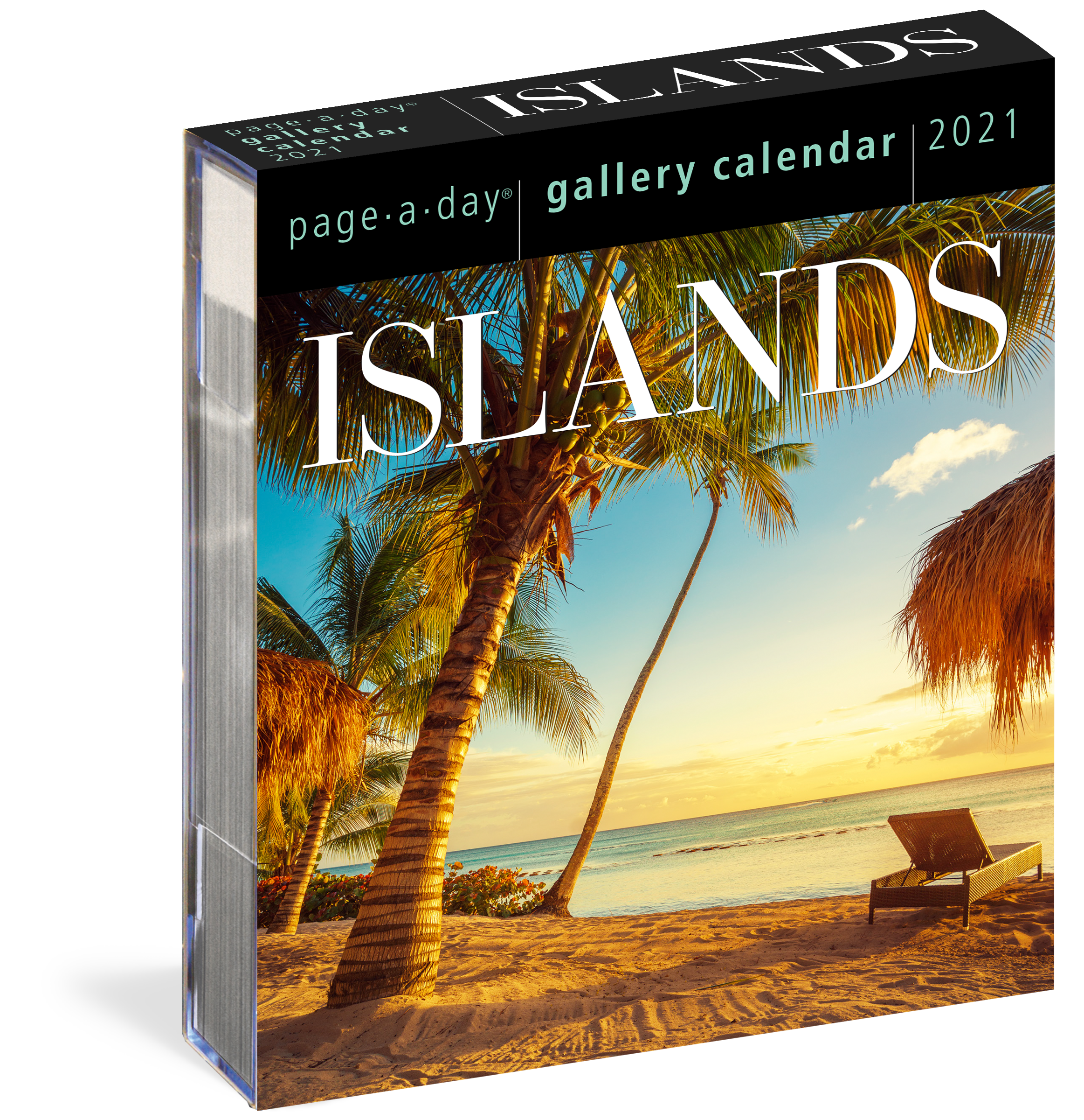 Islands Page A Day Gallery Calendar 2021   Workman Publishing