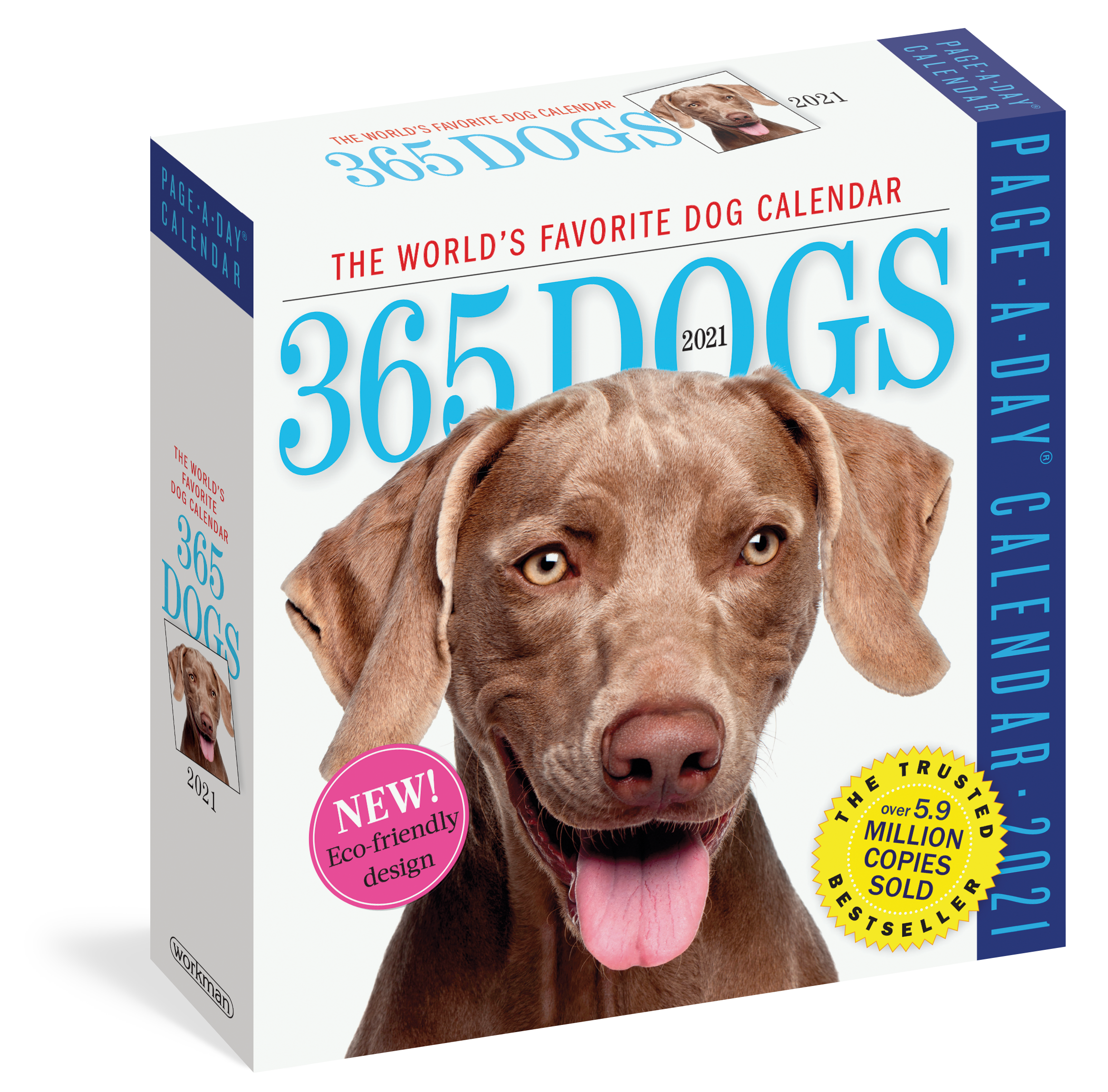 365 Day Calendar 2021 365 Dogs Page A Day Calendar 2021   Workman Publishing