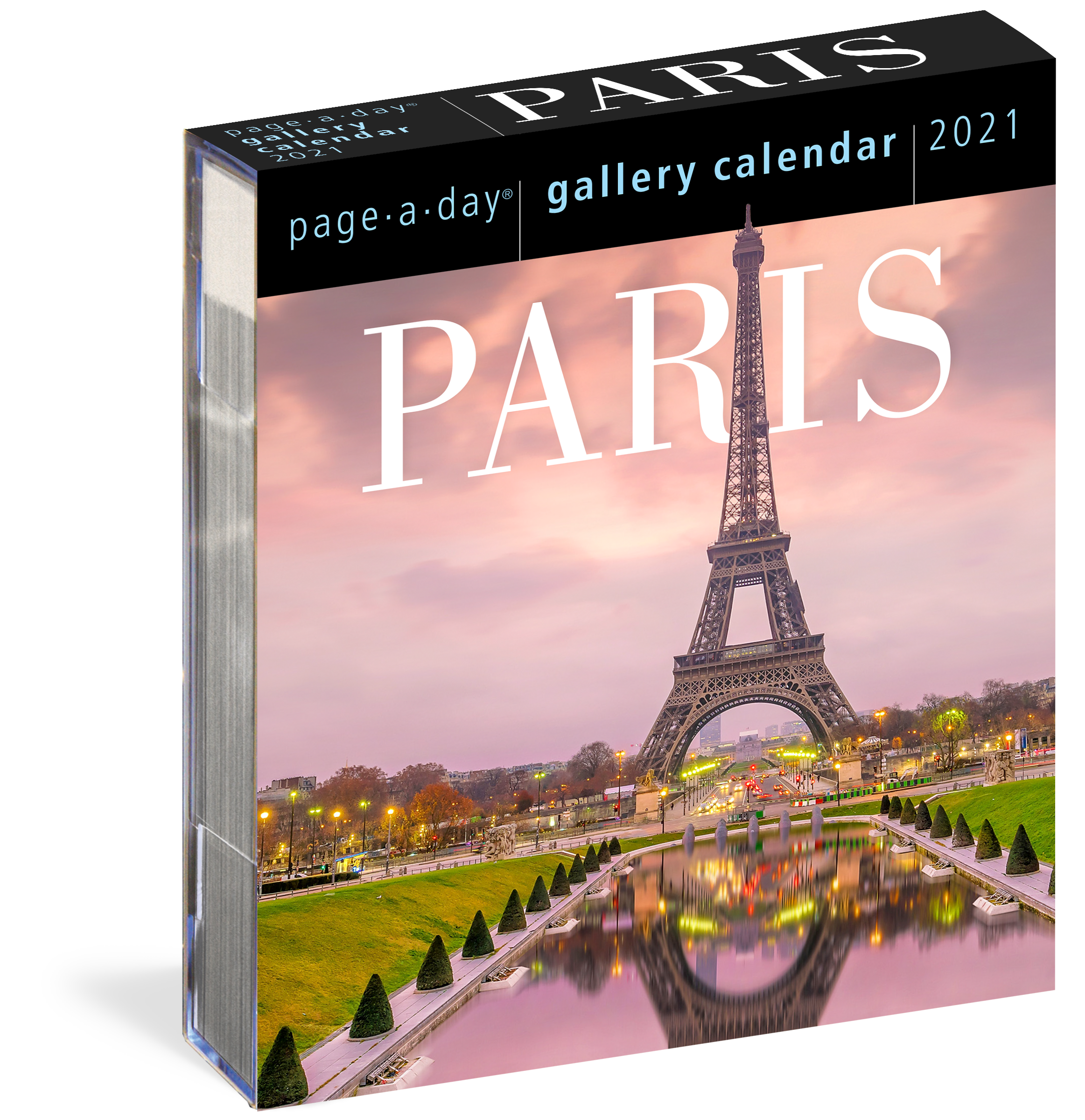 Page A Day Gallery Calendar 2021 Paris Page A Day Gallery Calendar 2021   Workman Publishing