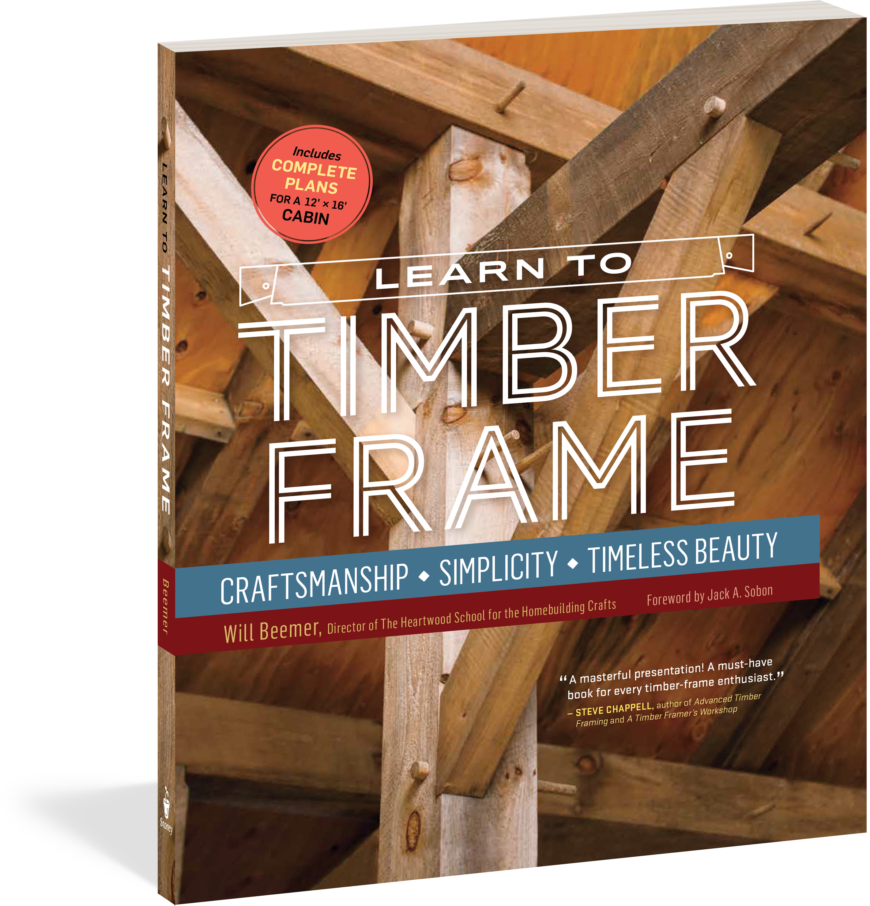 Learn to timber frame workman publishing learn to timber frame jeuxipadfo Gallery