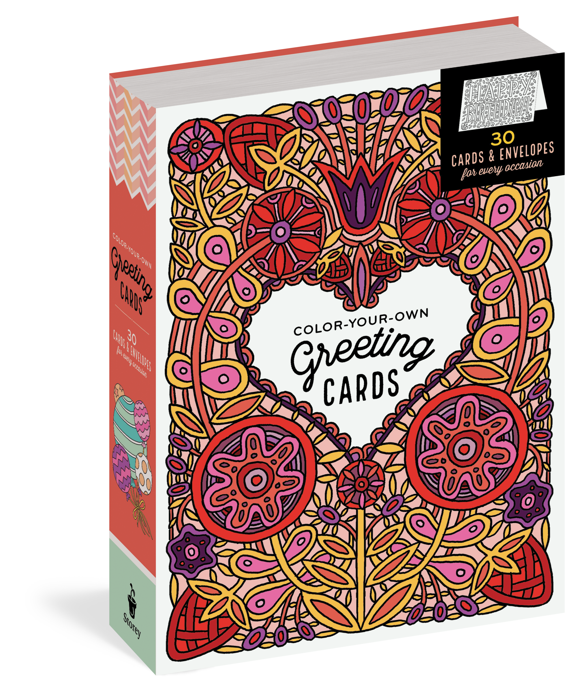 Color Your Own Greeting Cards Workman Publishing