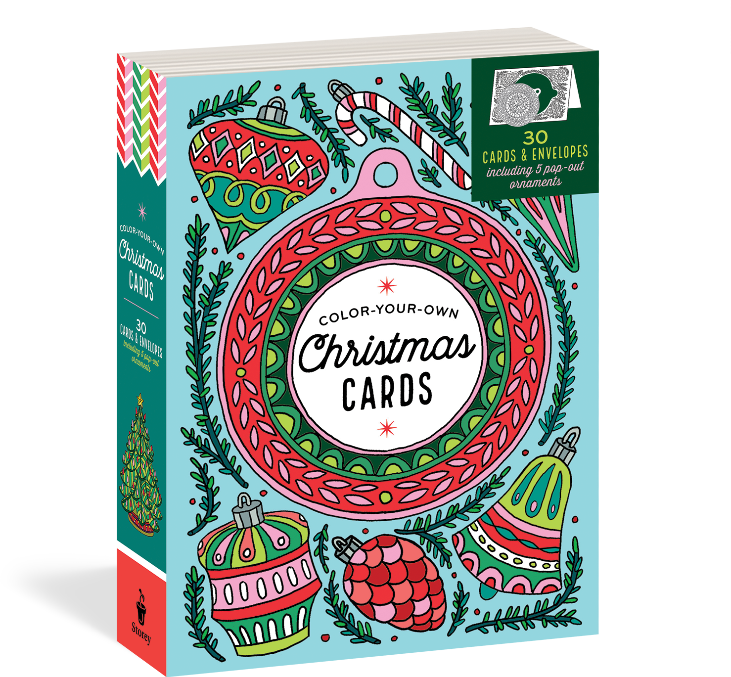Create-Your-Own Handmade Christmas Cards - Workman Publishing