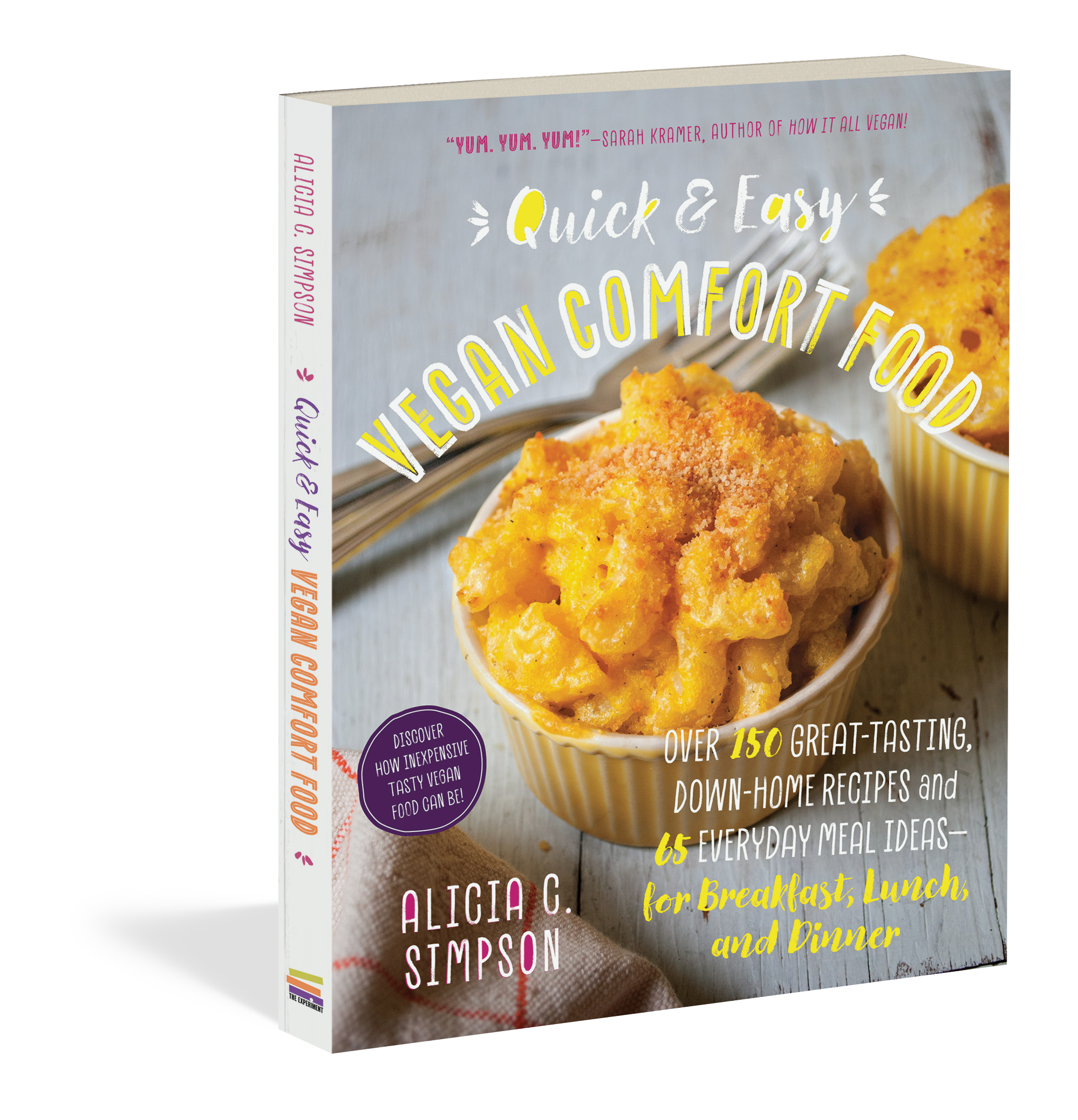 Quick and easy vegan comfort food workman publishing quick and easy vegan comfort food forumfinder Gallery