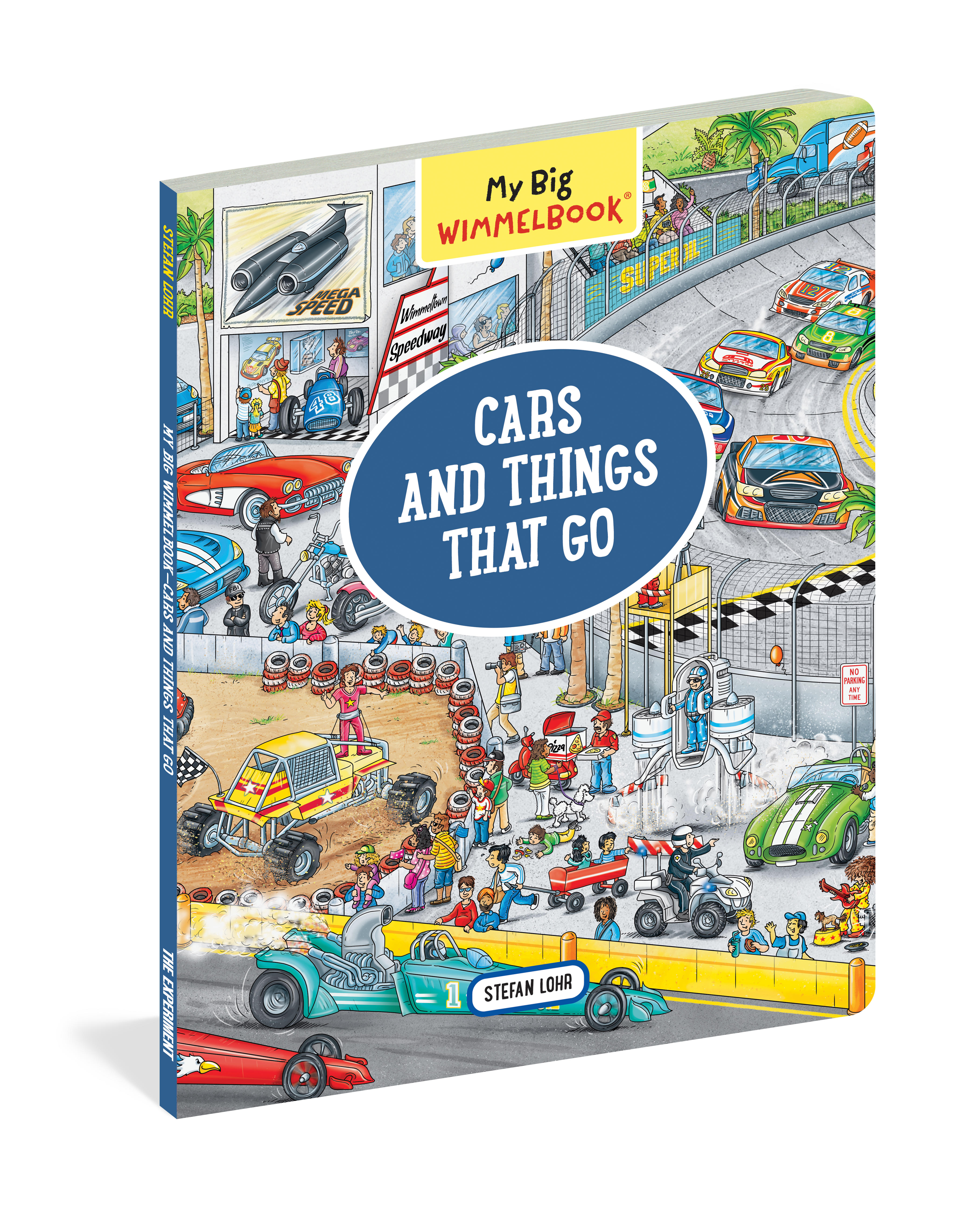 My Big Wimmelbook—Cars and Things That Go - Workman Publishing