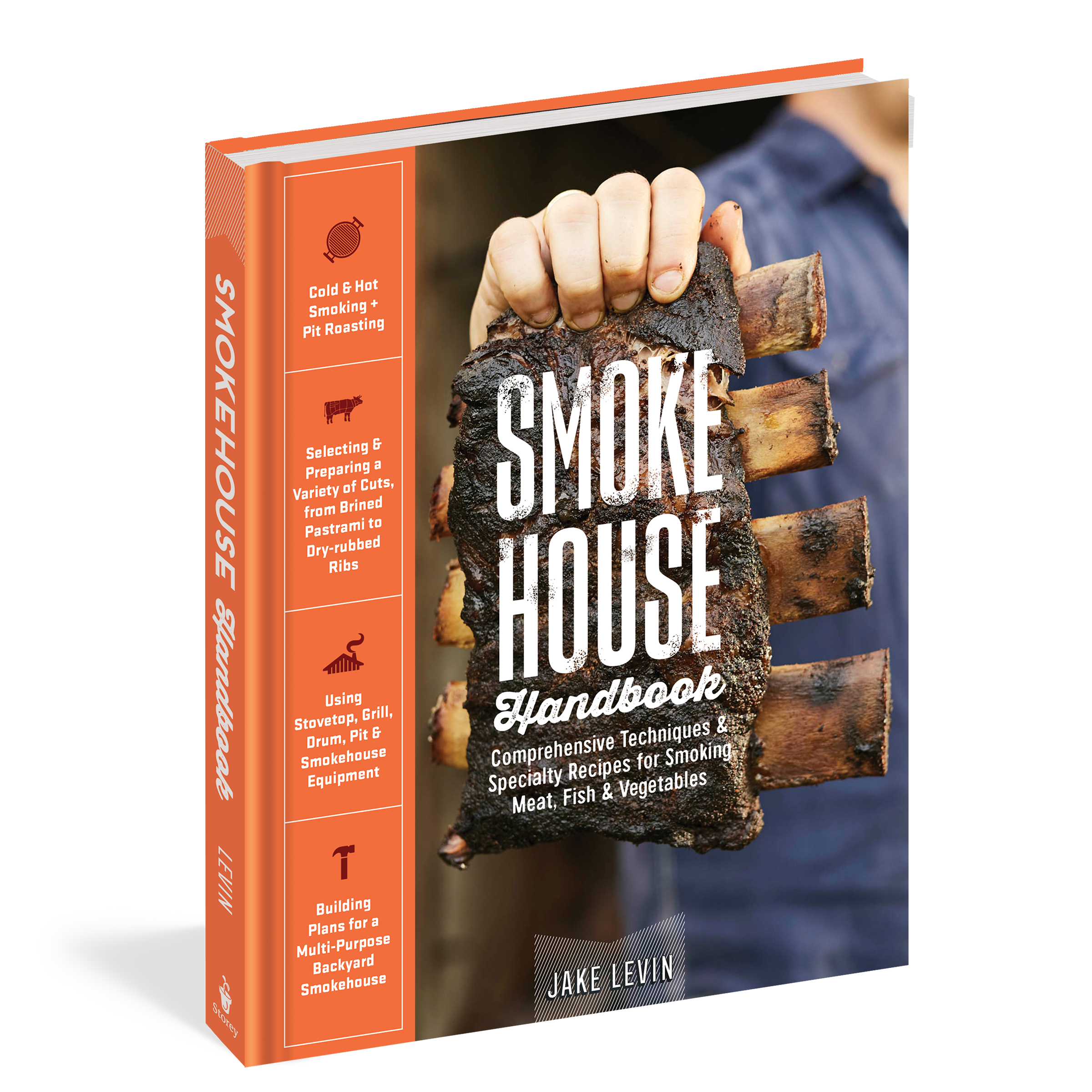 Smokehouse Handbook on stone shed plans, stone cottage plans, stone log cabin plans, stone brewery plans, stone church plans, stone garage plans, stone root cellar plans,